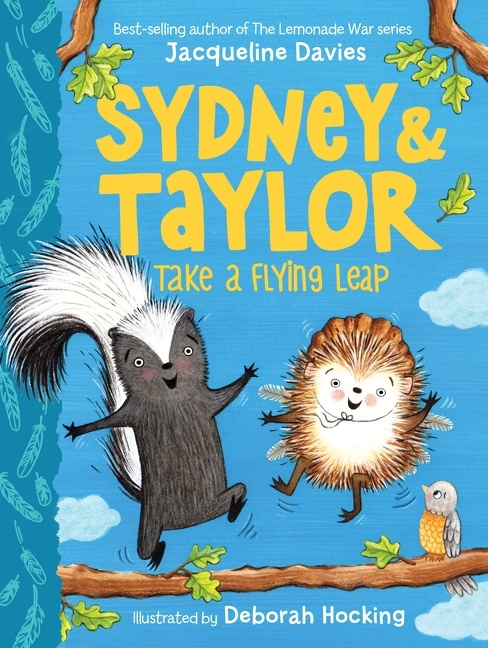Cover Image of Sydney and Taylor Take a Flying Leap