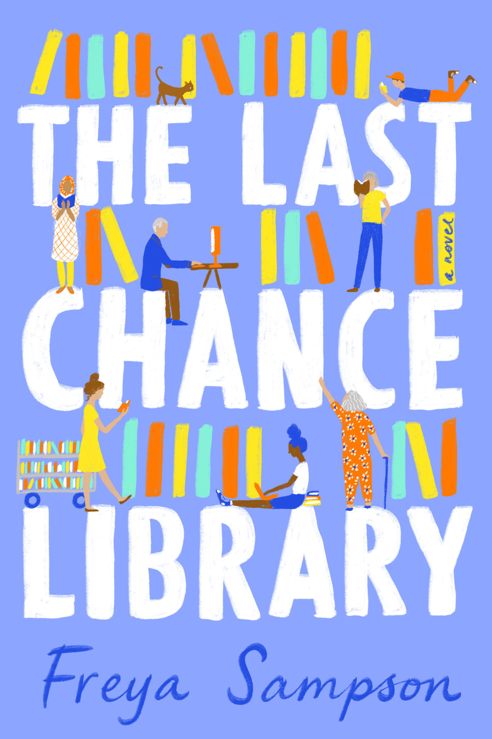 Cover Image of The Last Chance Library