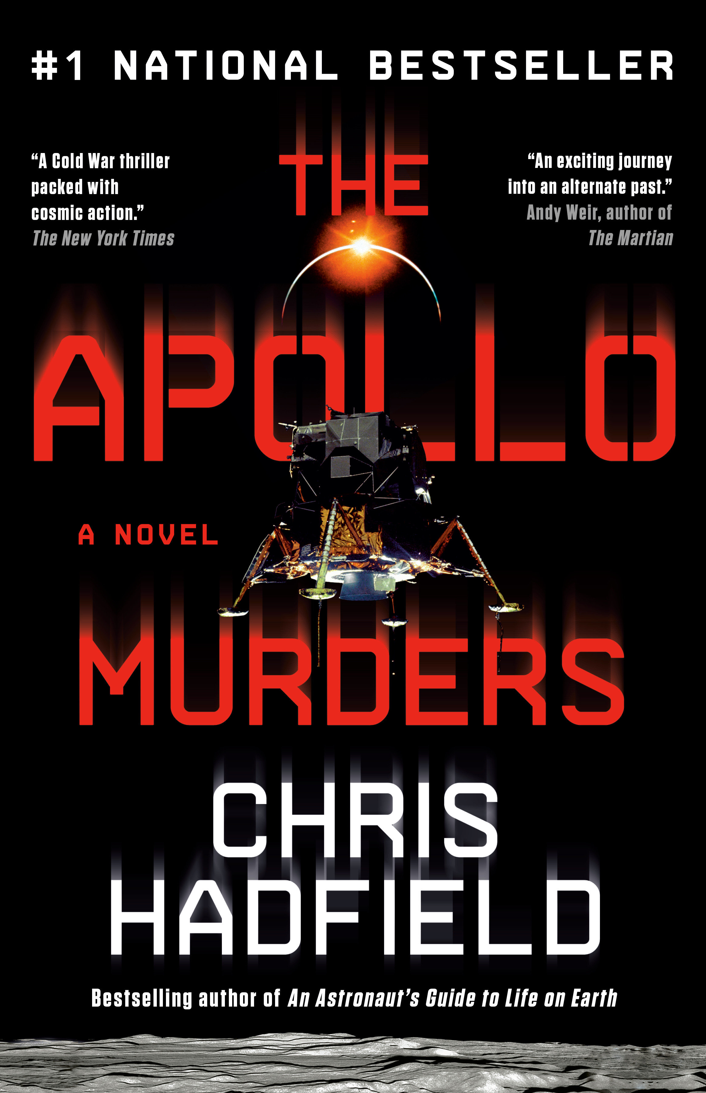 Cover Image of The Apollo Murders