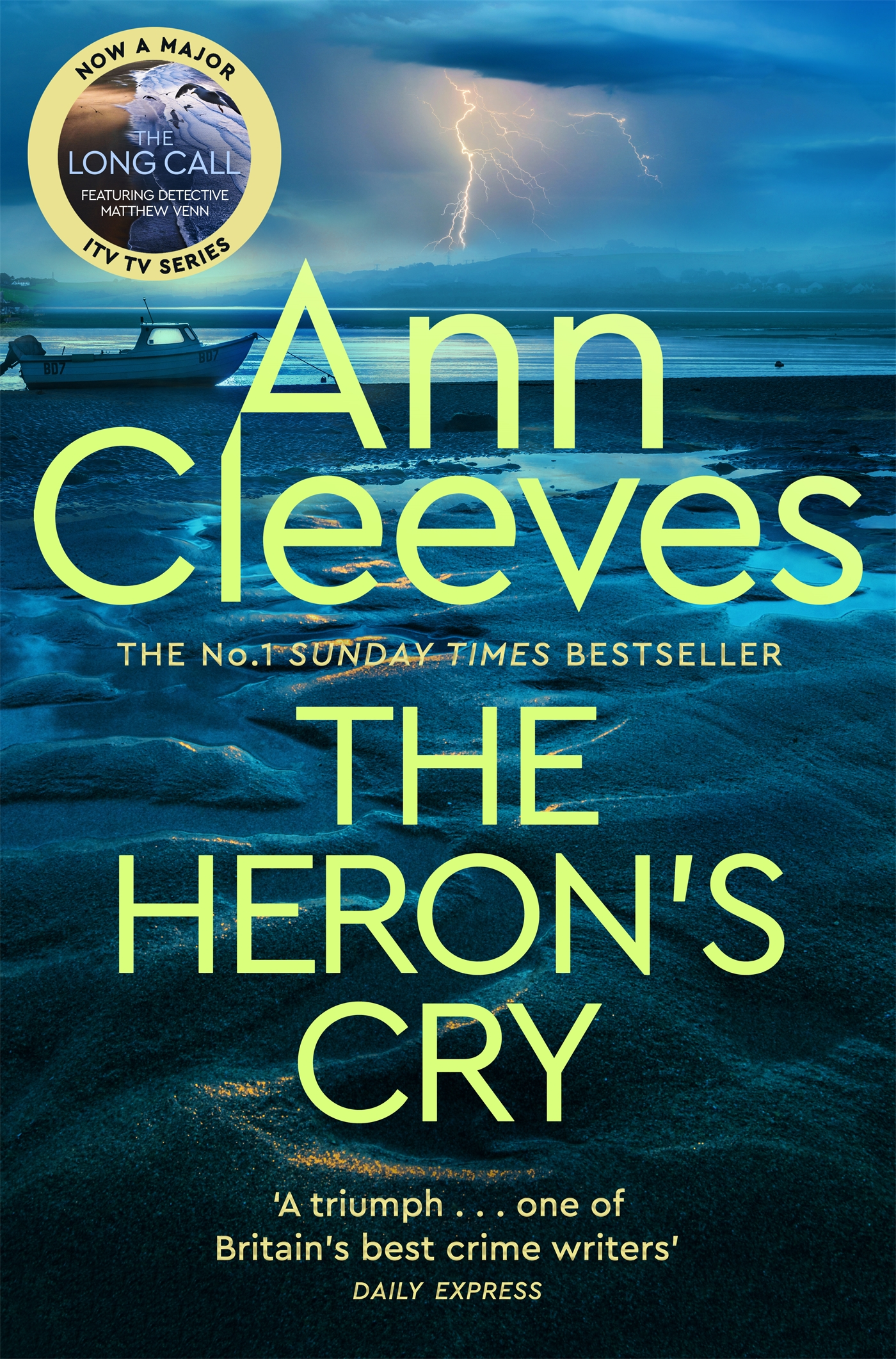 Cover Image of The Heron's Cry