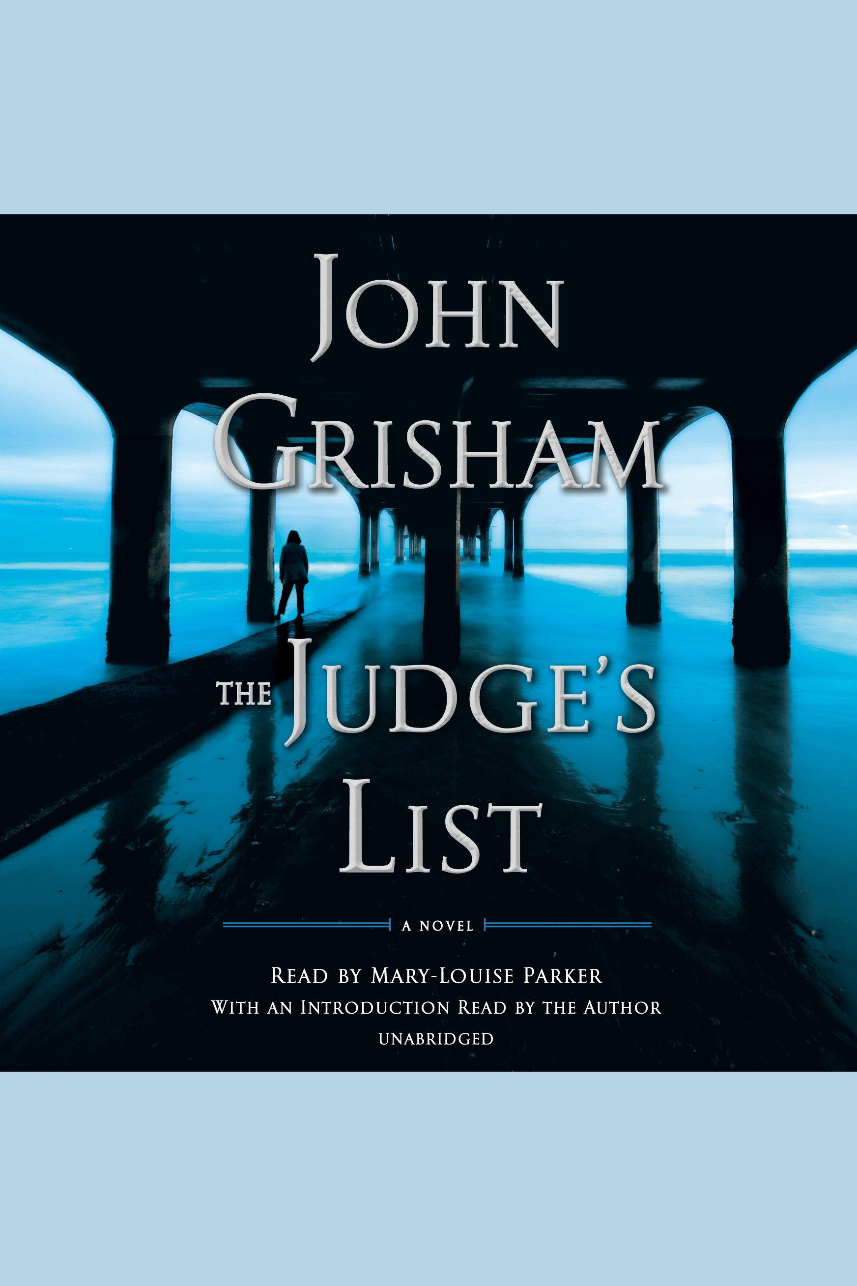 Judge's List, The A Novel