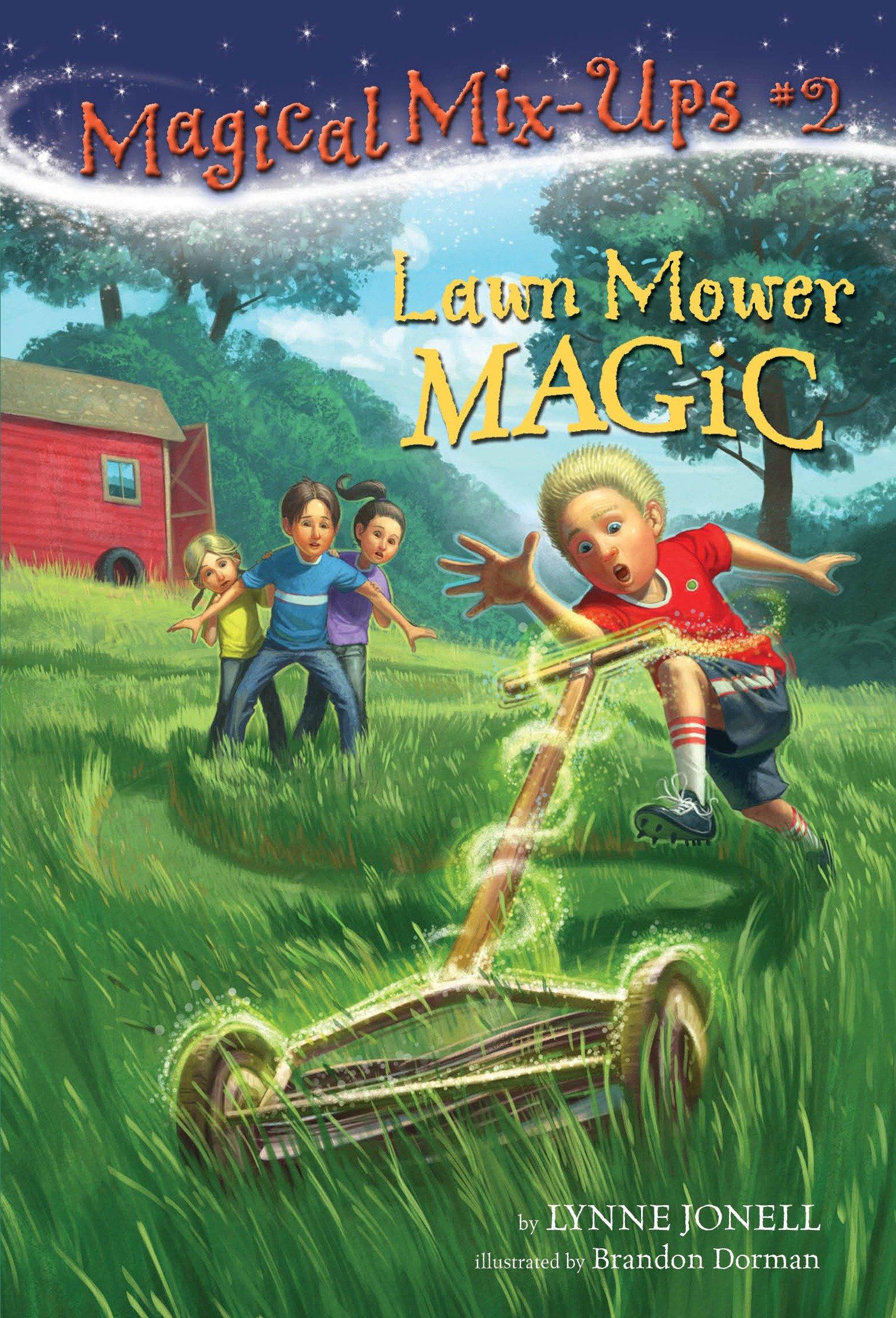 Lawn mower magic cover image