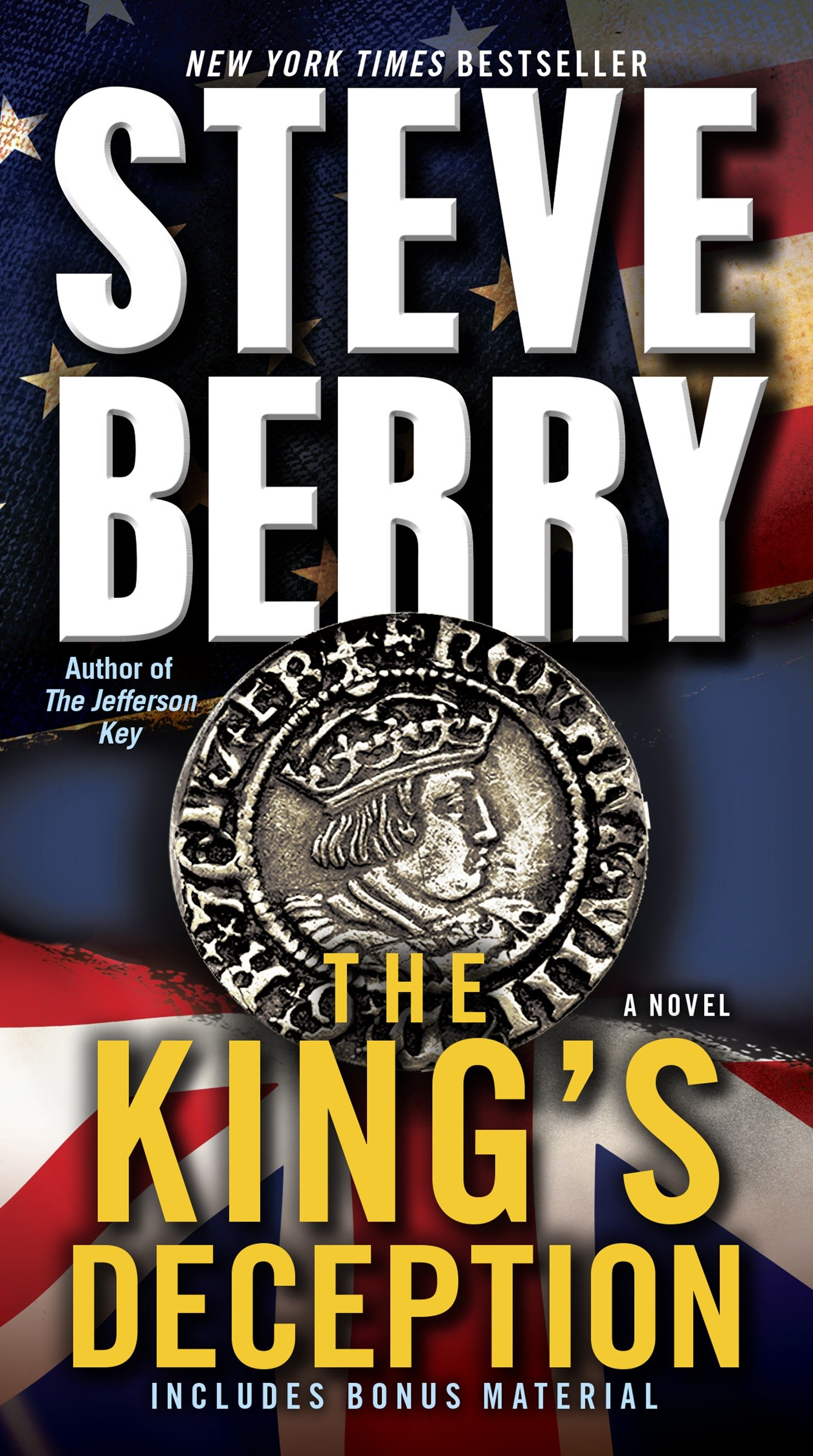 Cover image for The King's Deception (with bonus novella The Tudor Plot) [electronic resource] : A Novel