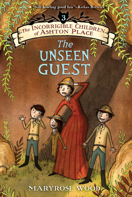 Cover image for The Incorrigible Children of Ashton Place: Book III [electronic resource] : The Unseen Guest