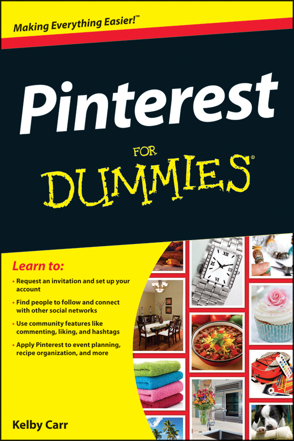 Pinterest for dummies cover image