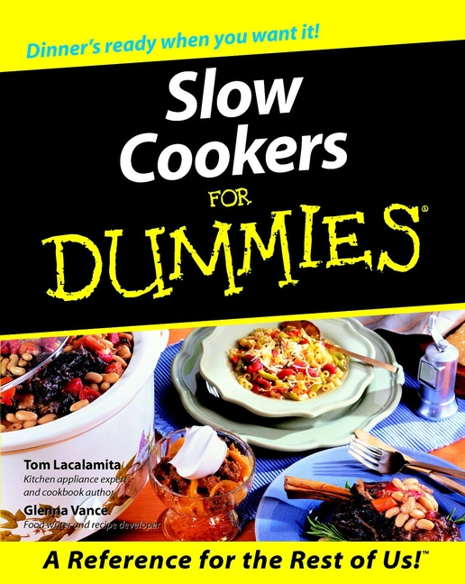 Slow cookers for dummies cover image