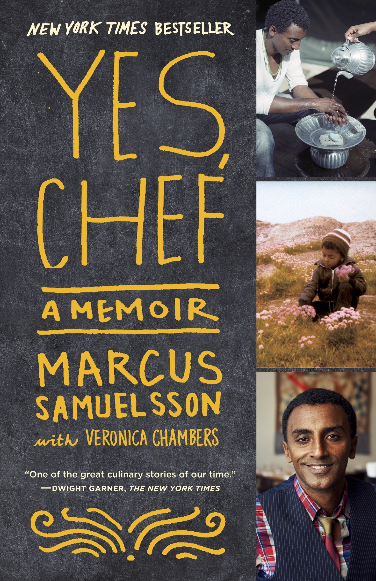 Yes, chef a memoir cover image