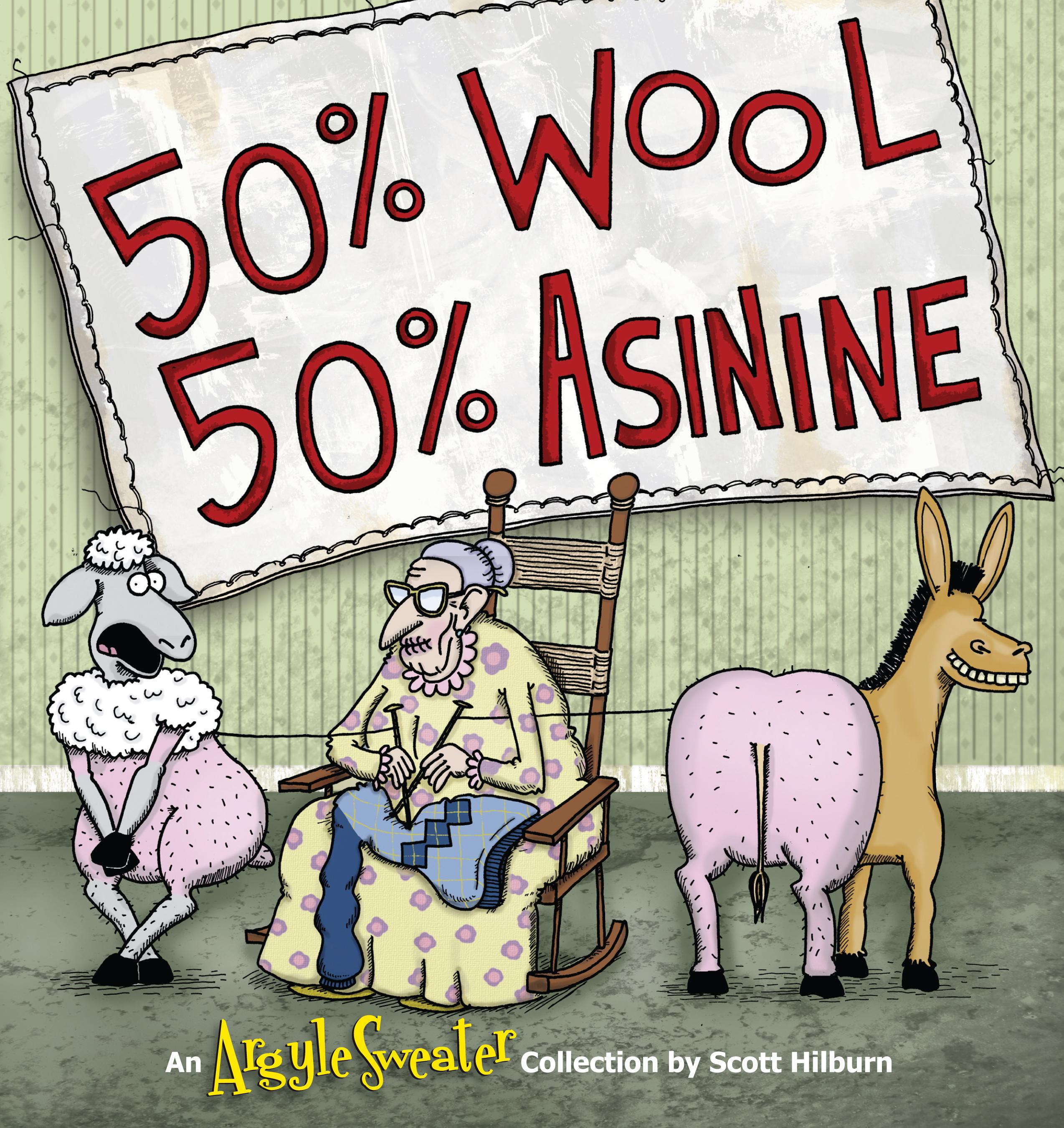 50% Wool, 50% Asinine An Argyle Sweater Collection