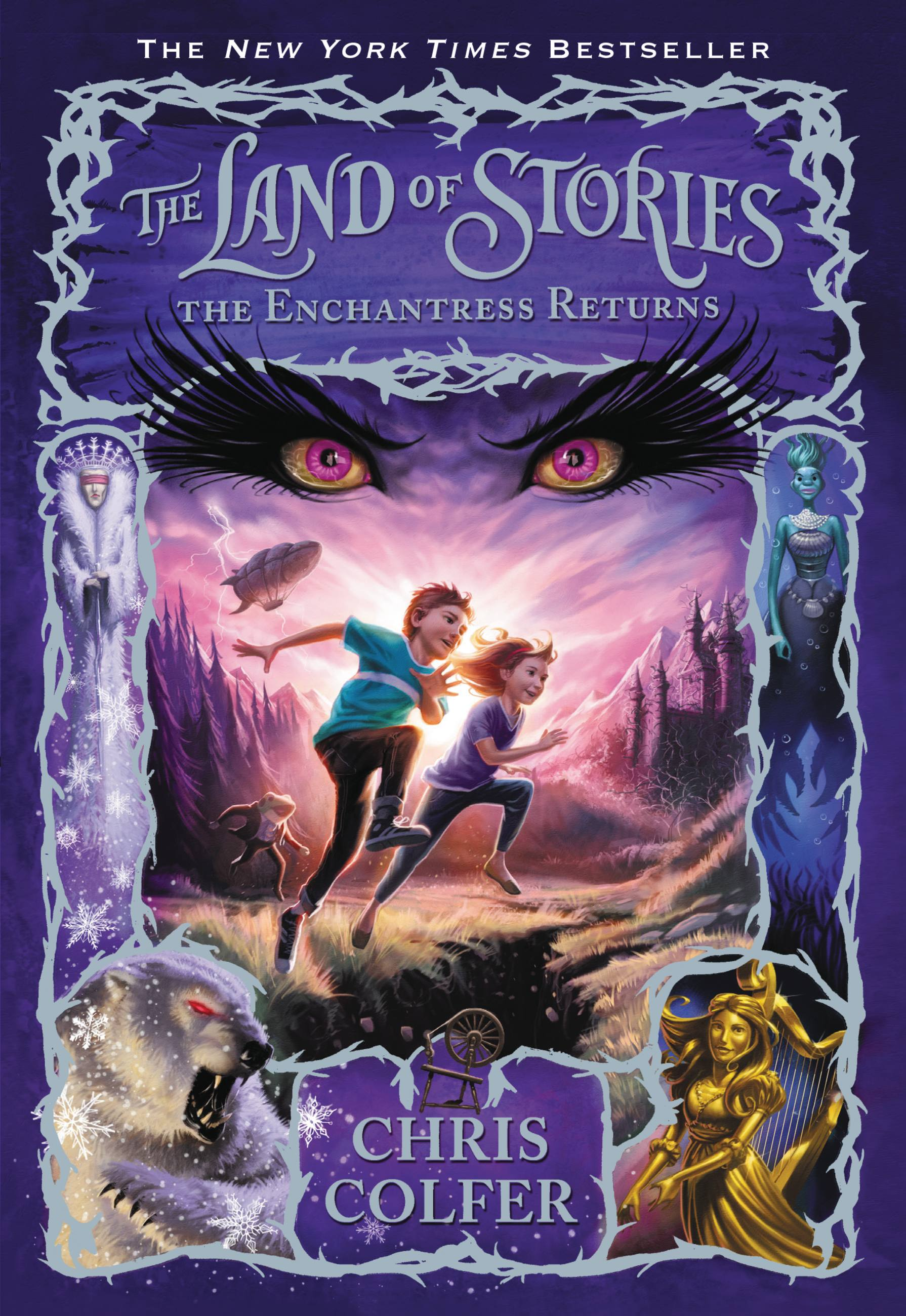 Cover image for The Land of Stories: The Enchantress Returns [electronic resource] :