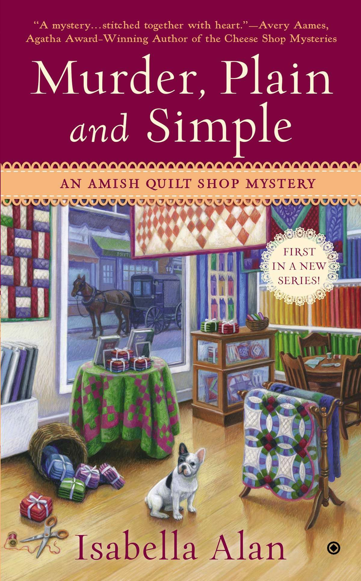 Murder, Plain and Simple An Amish Quilt Shop Mystery