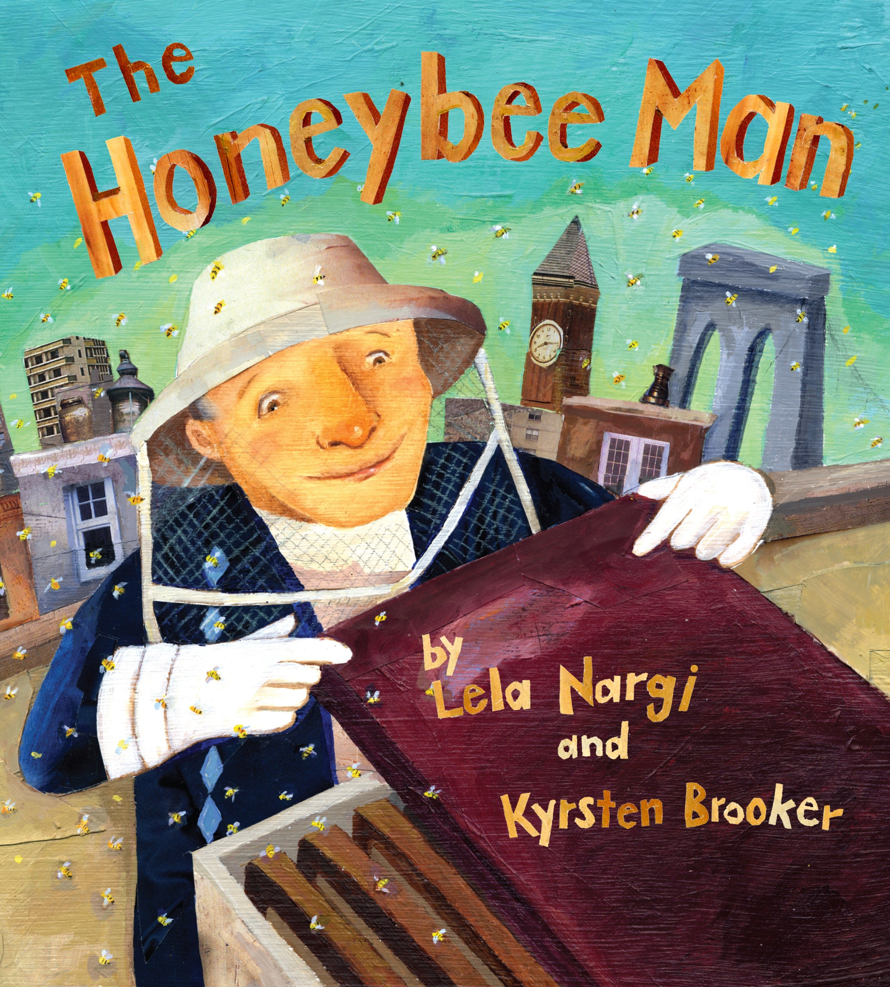 The honeybee man cover image