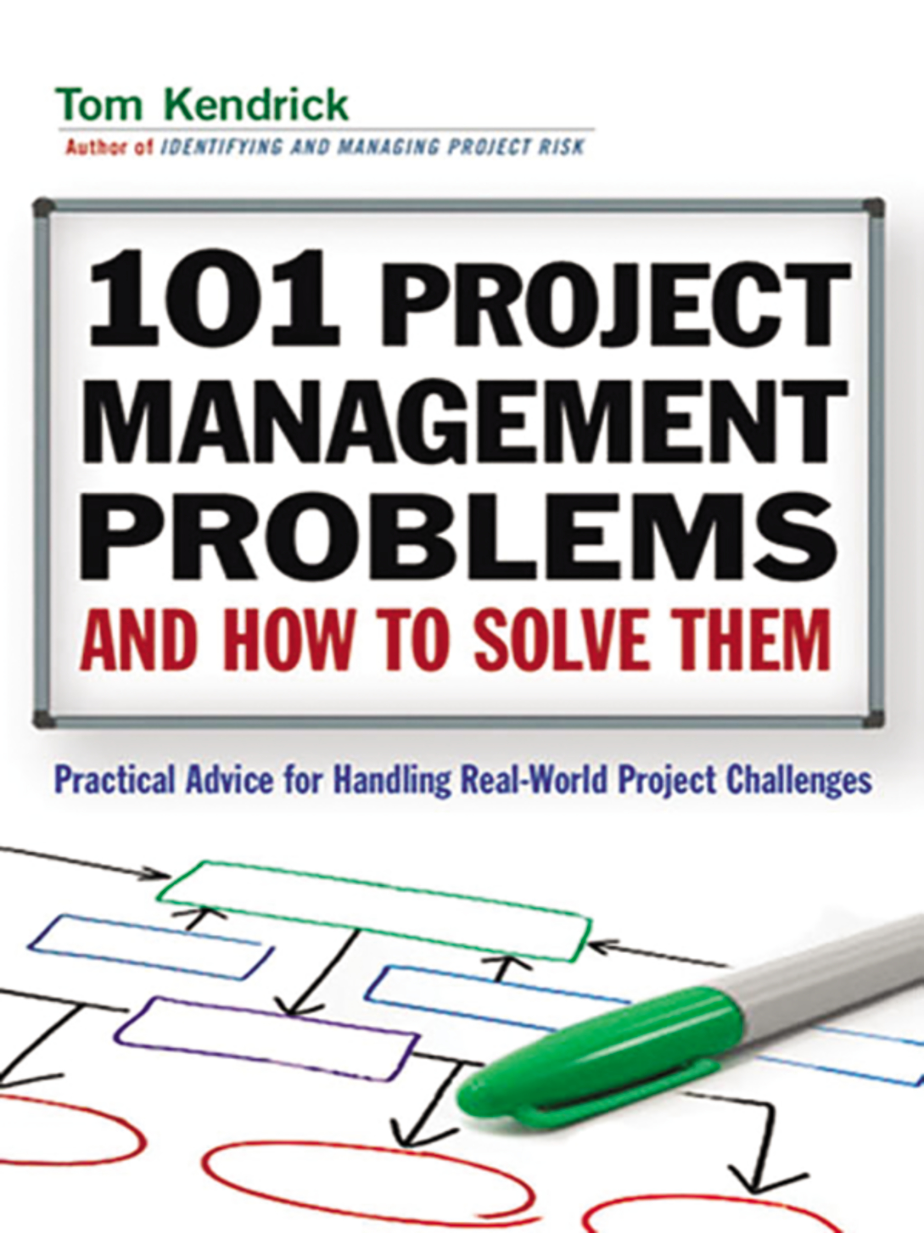 101 project management problems and how to solve them practical advice for handling real-world project challenges cover image