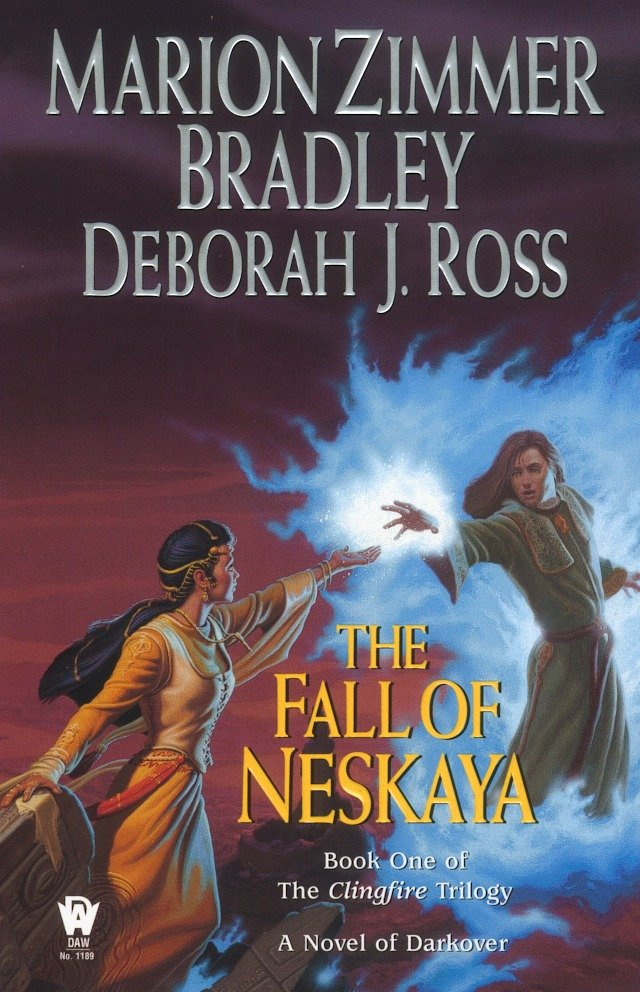 The fall of Neskaya The Clingfire Trilogy, Volume I cover image