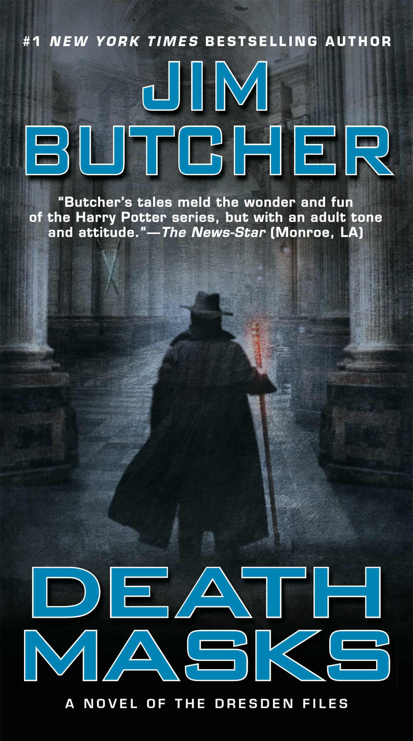 Death masks cover image