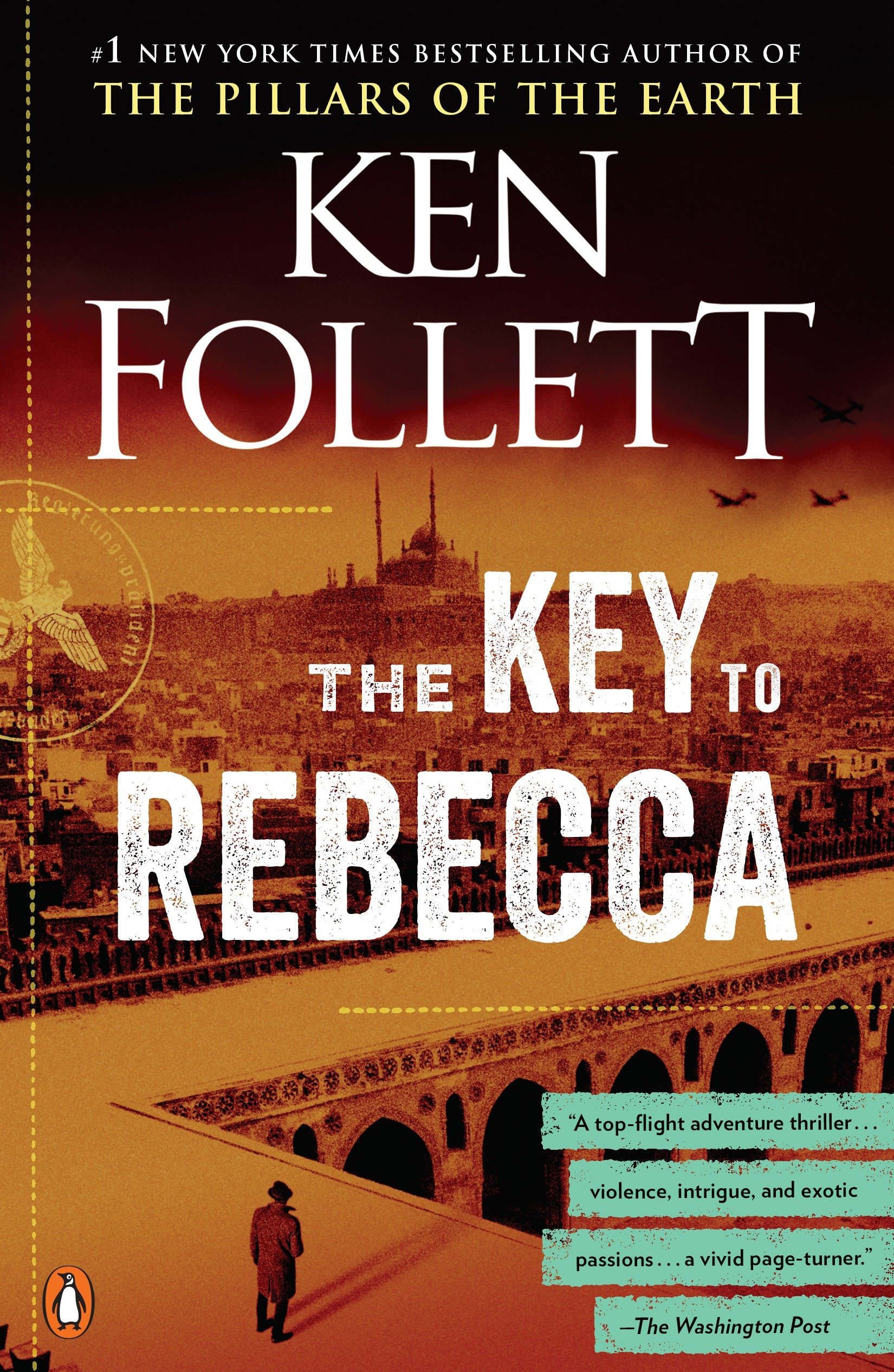 The key to Rebecca cover image