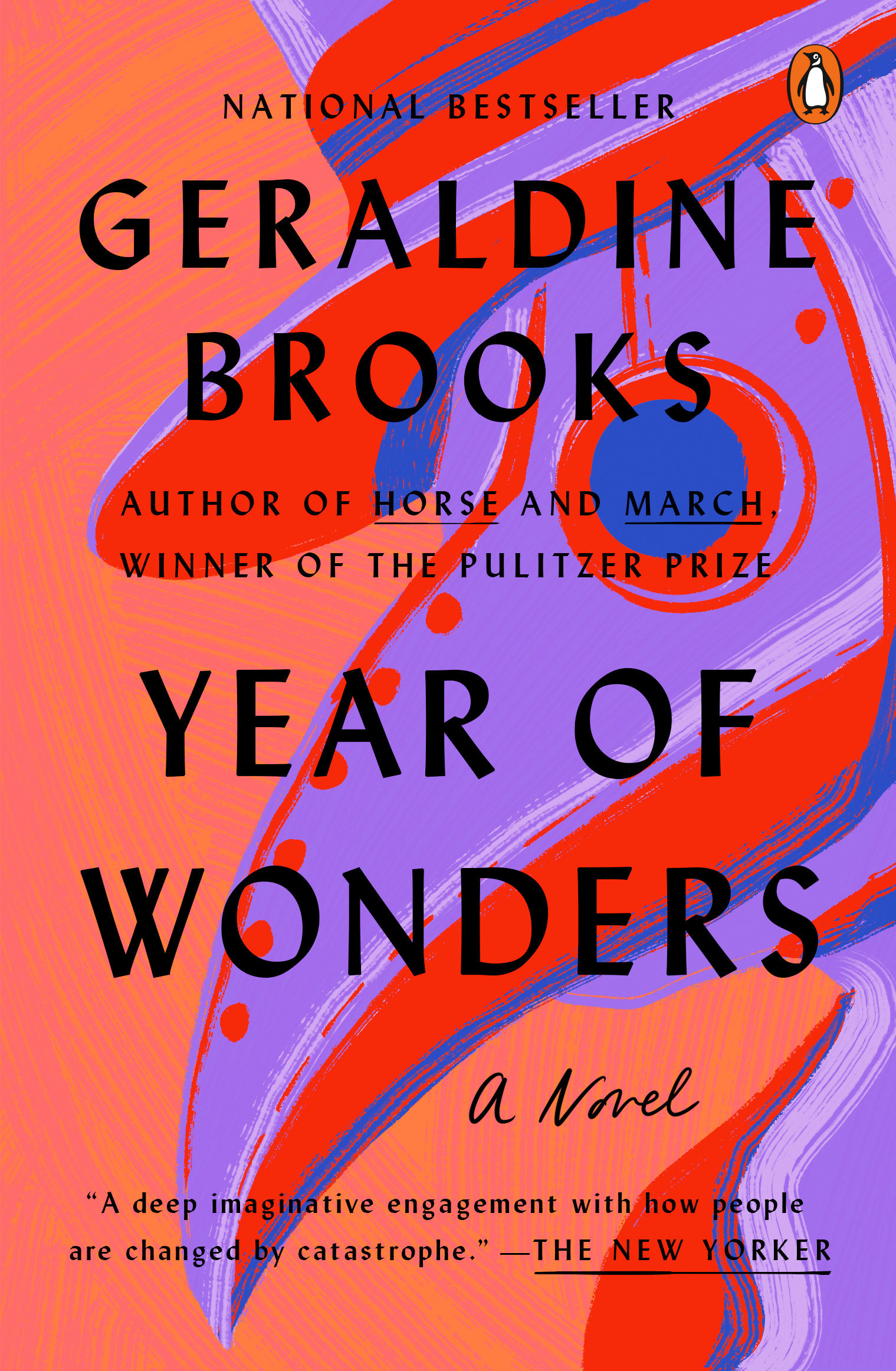 Year of wonders a novel of the plague cover image
