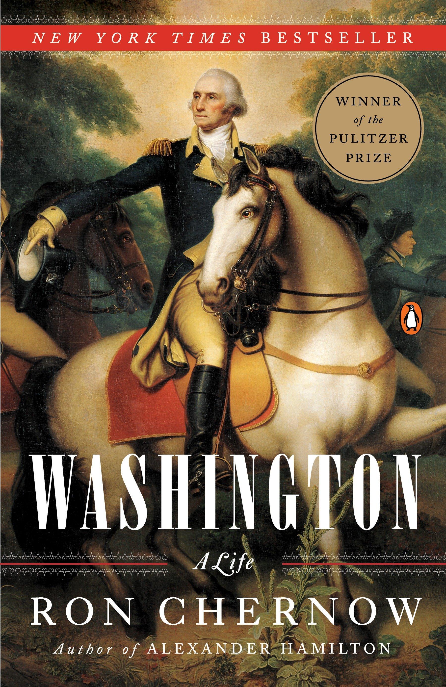 Washington a life cover image