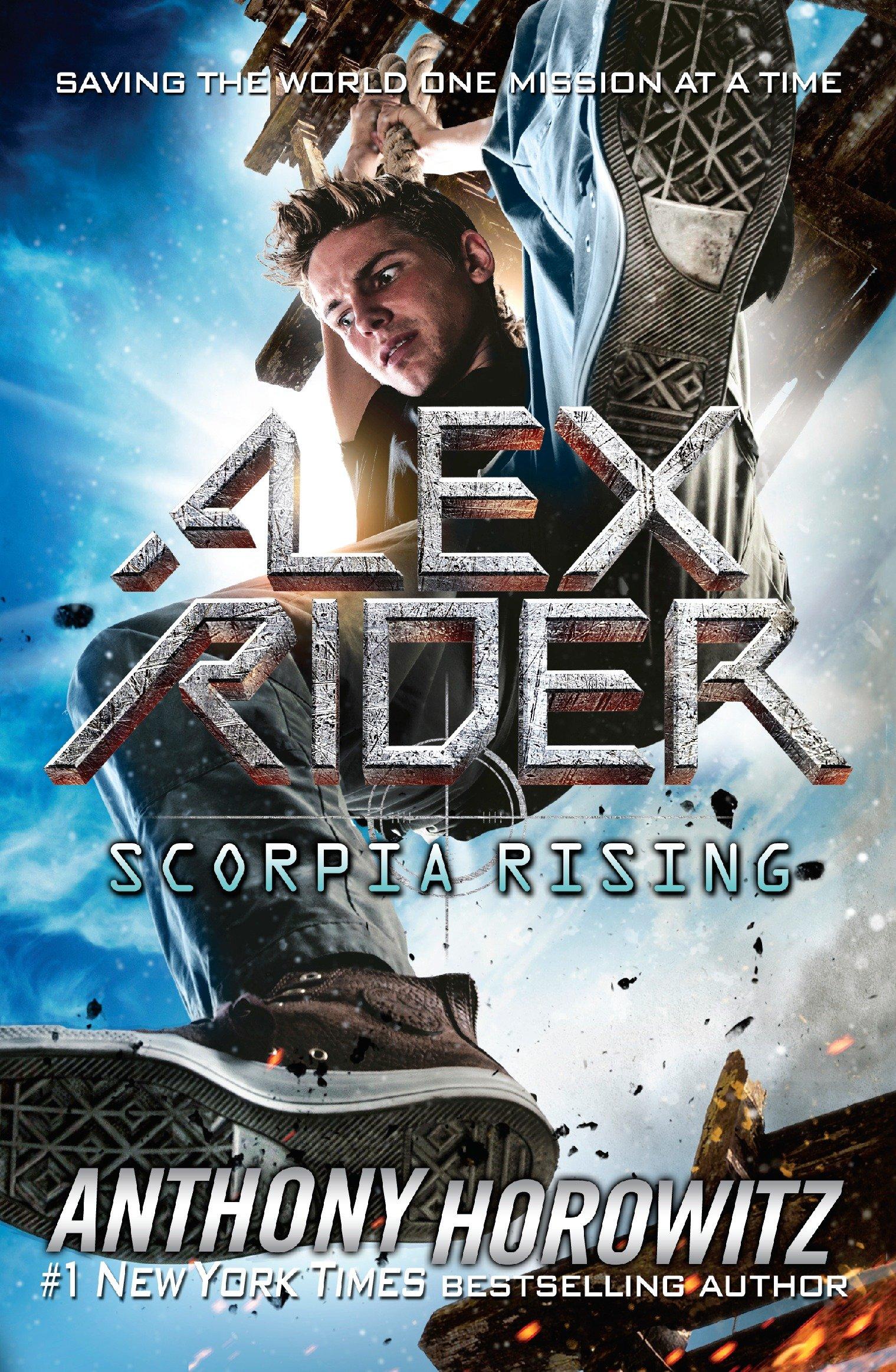 Scorpia rising cover image