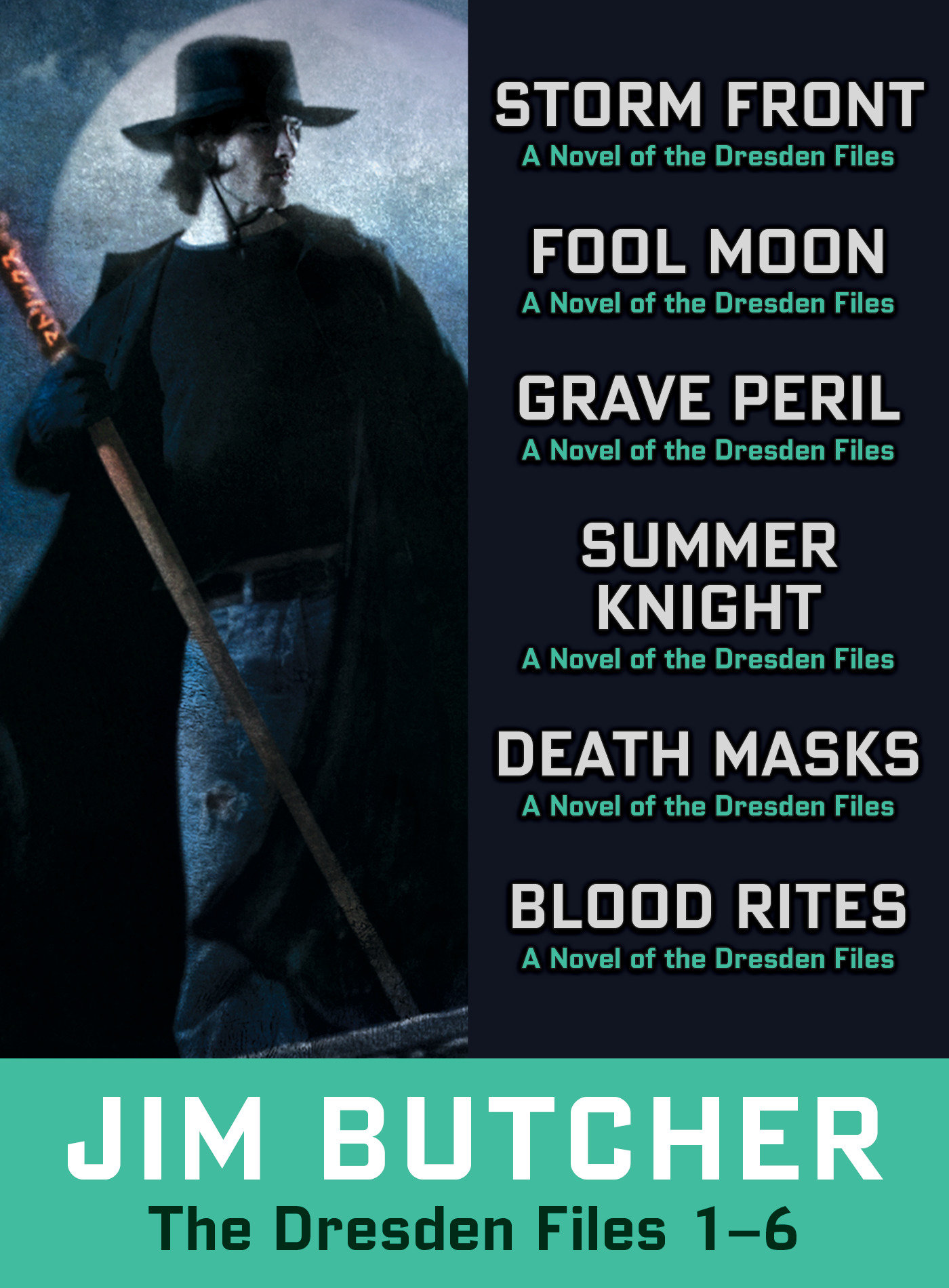 The Dresden Files collection 1-6 cover image