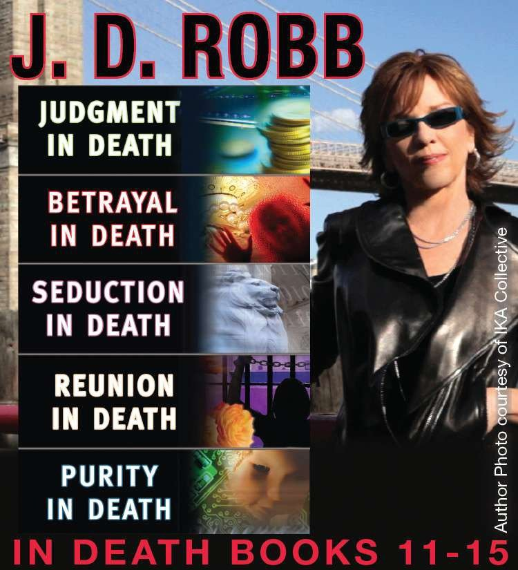 J.D. Robb  The death collection books 11-15 cover image