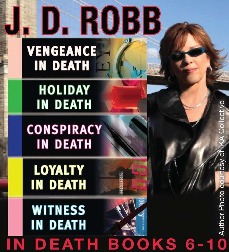 The IN DEATH Collection Books 6-10 cover image