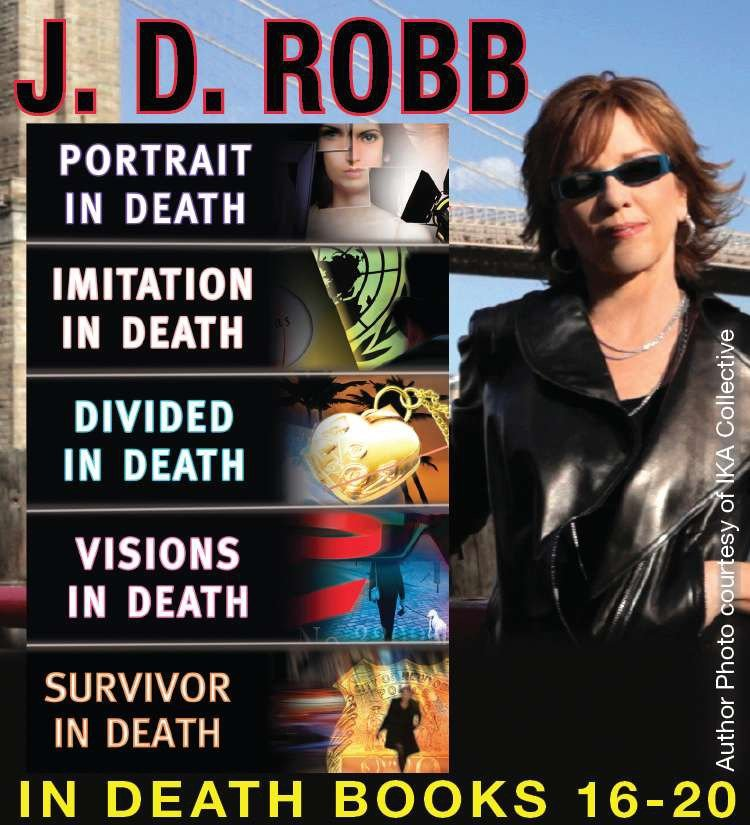 J.D. Robb  The in death collection books 16-20 cover image