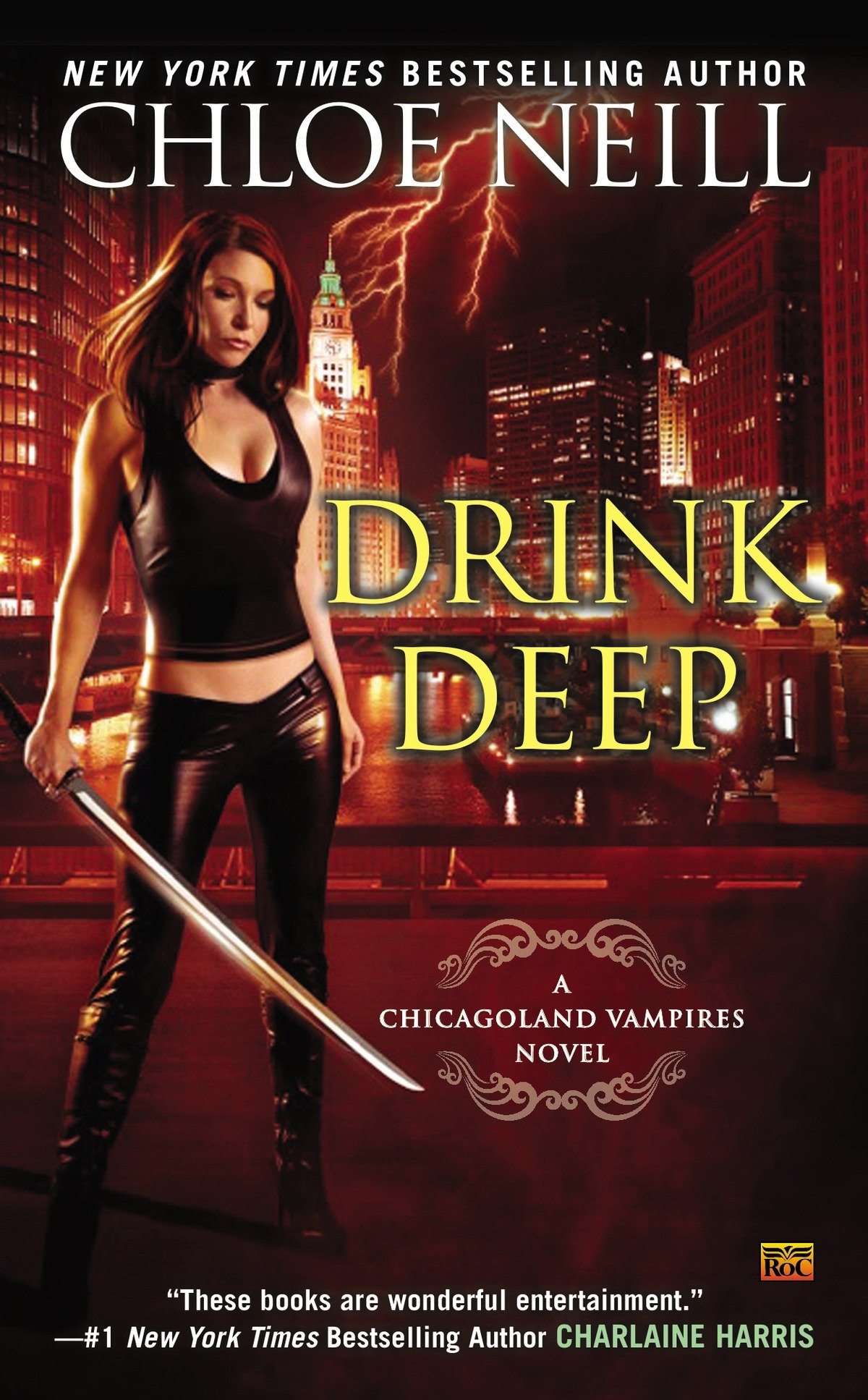 Drink deep a Chicagoland vampires novel cover image