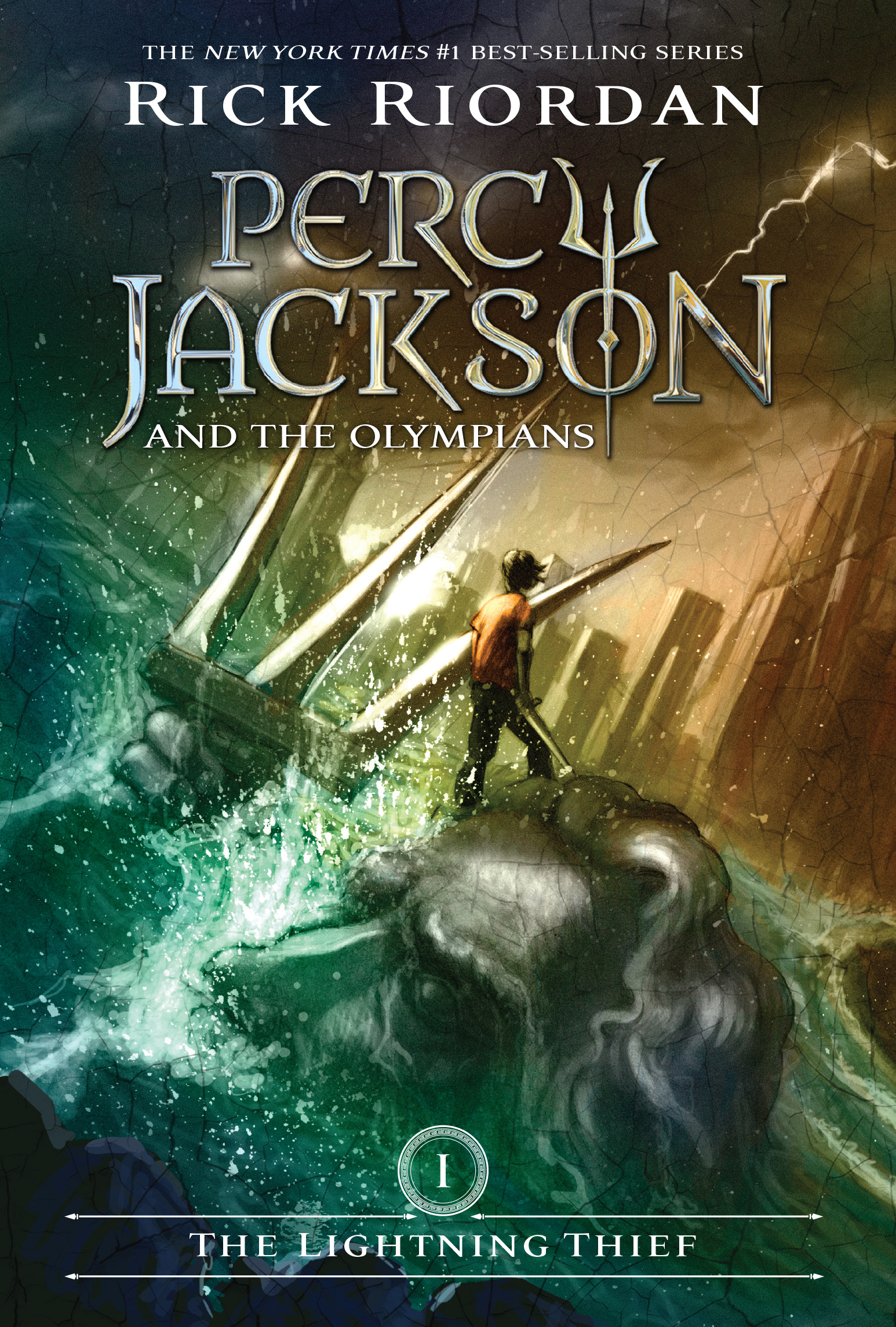 Cover Image of Lightning Thief, The (Percy Jackson and the Olympians, Book 1)