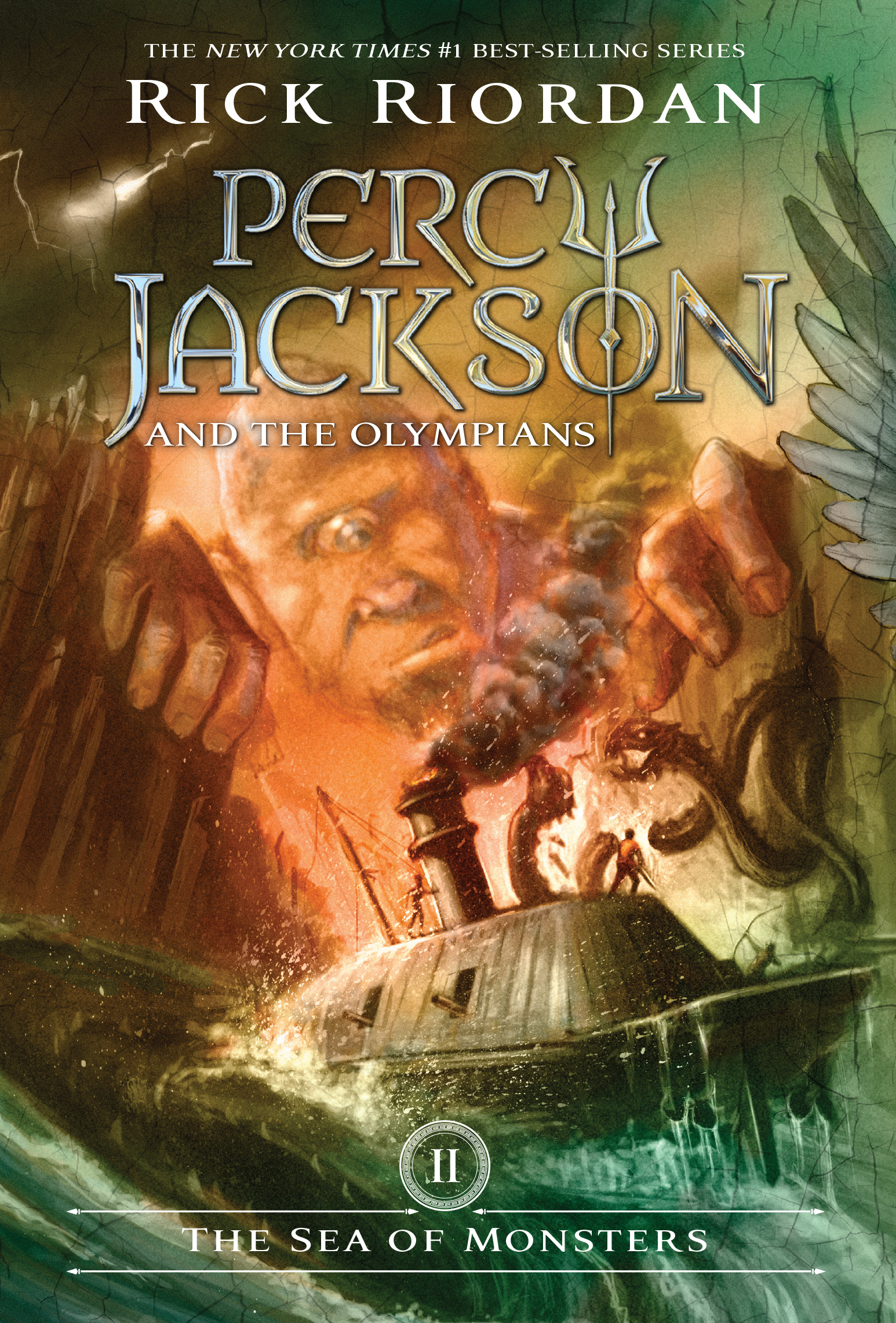 Cover Image of The Sea of Monsters (Percy Jackson and the Olympians, Book 2)