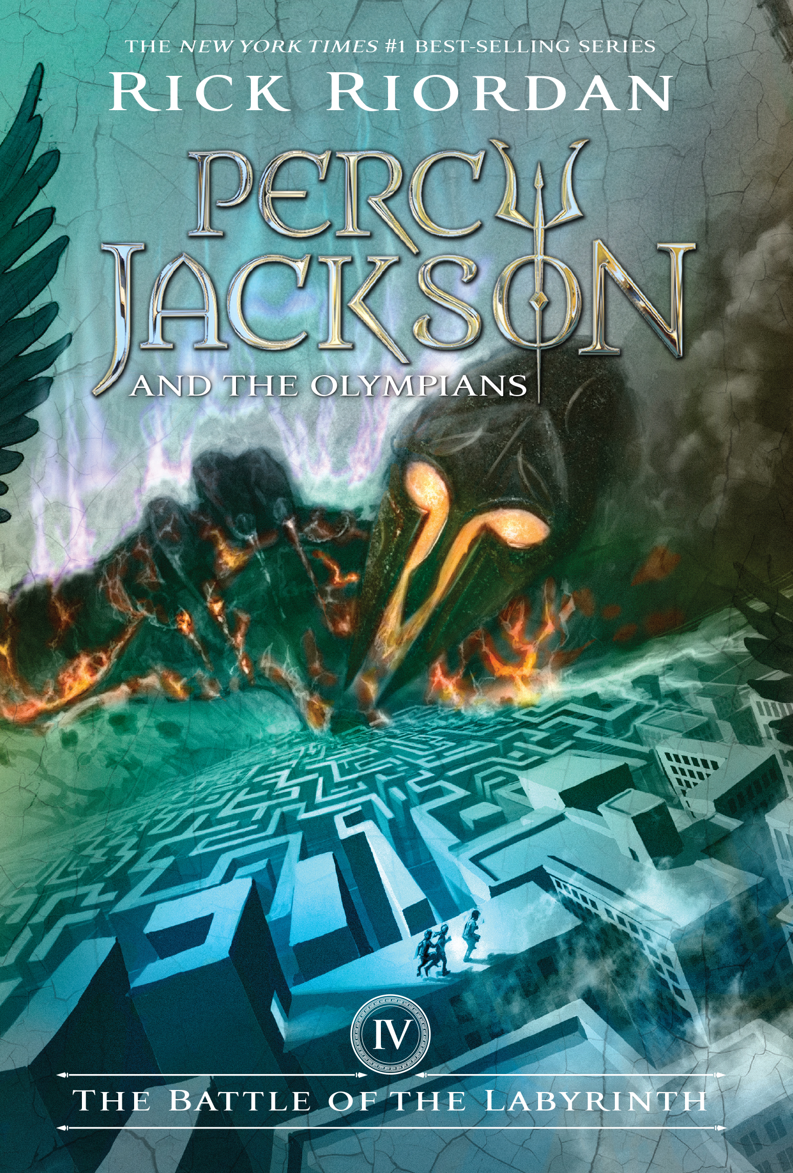 Cover Image of Battle of the Labyrinth, The (Percy Jackson and the Olympians, Book 4)