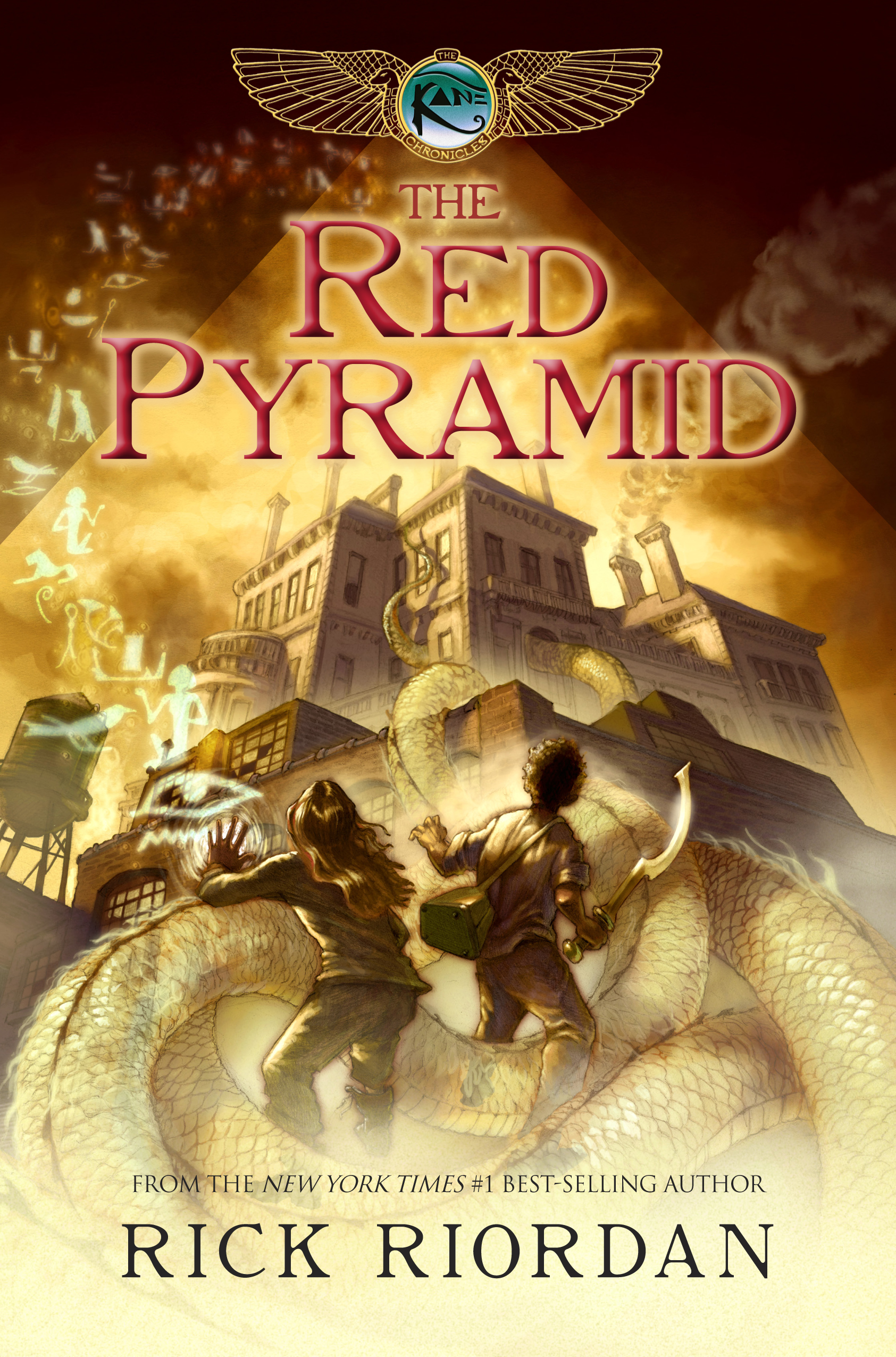 Cover Image of The Red Pyramid