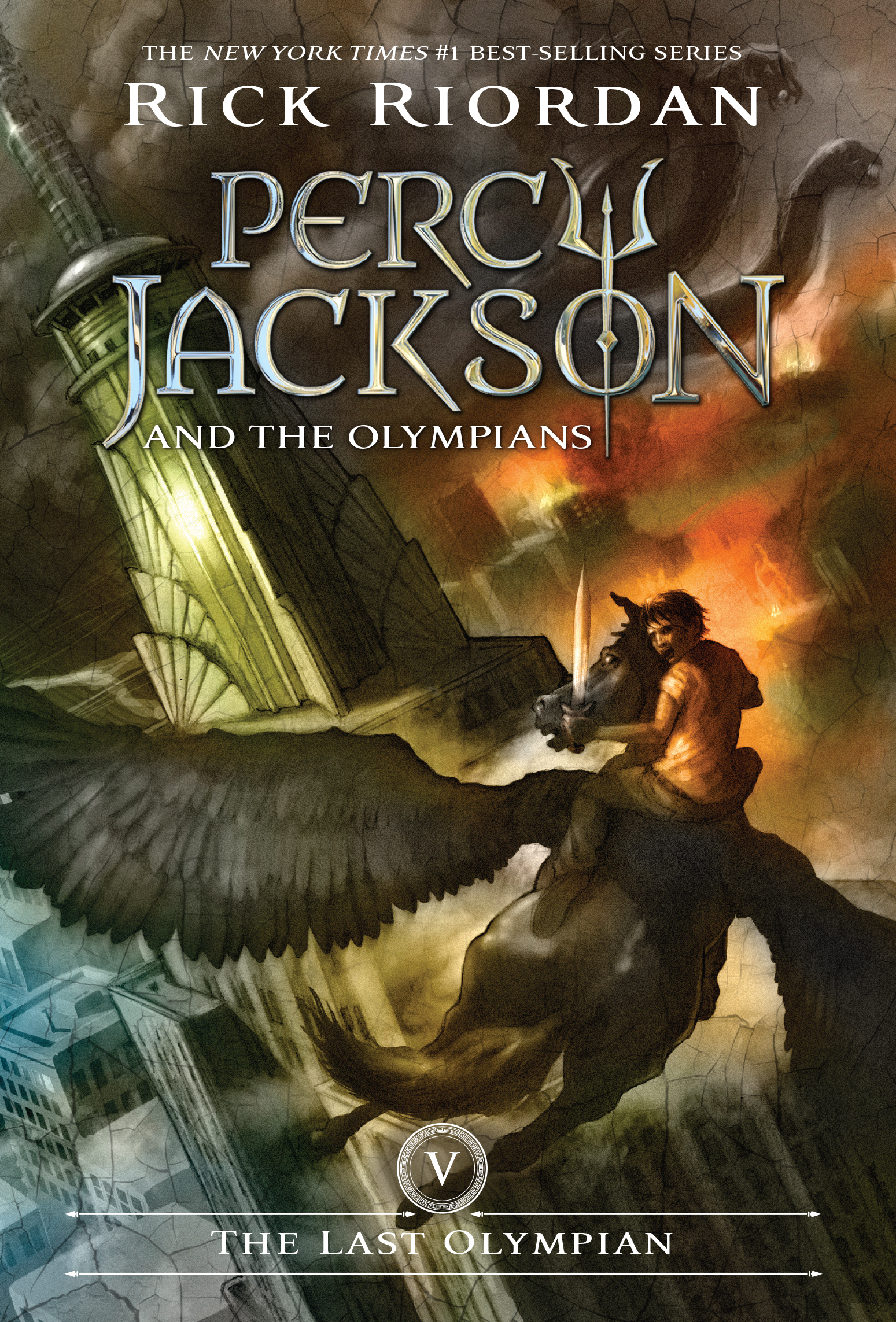 Cover Image of The Last Olympian (Percy Jackson and the Olympians, Book 5)