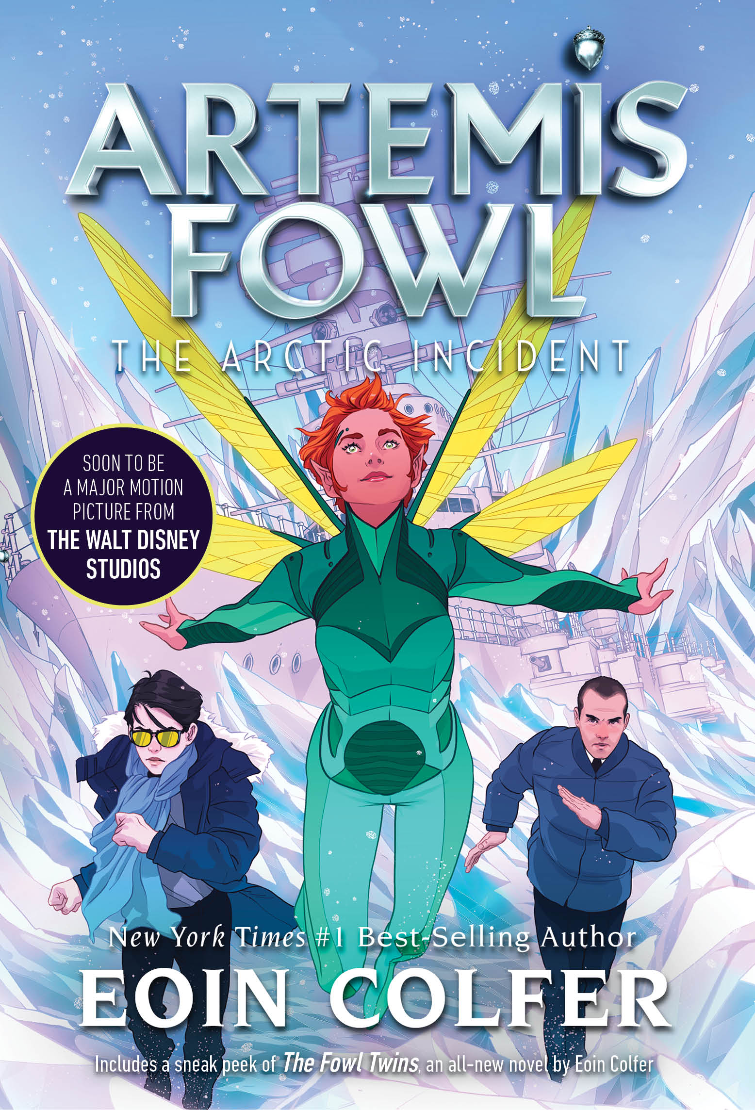 The Arctic Incident Artemis Fowl, Book 2