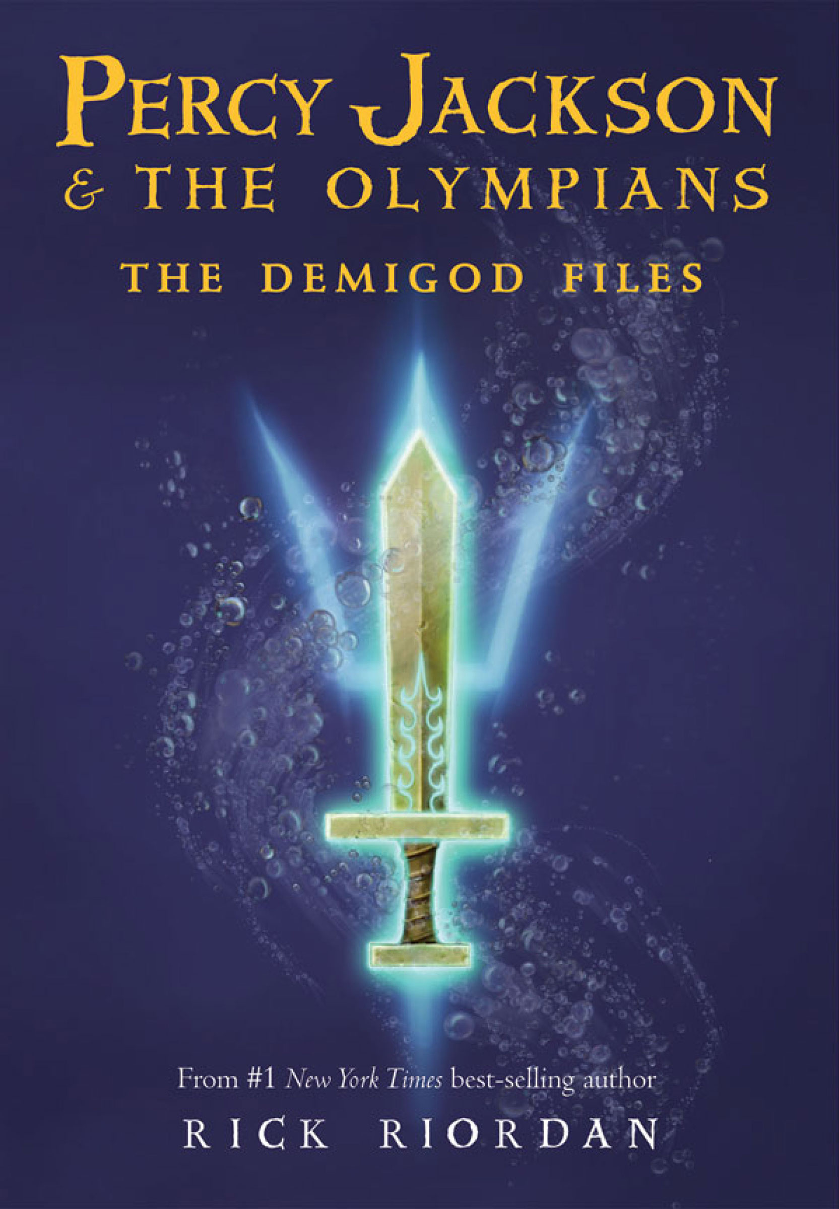 Cover Image of Percy Jackson: The Demigod Files