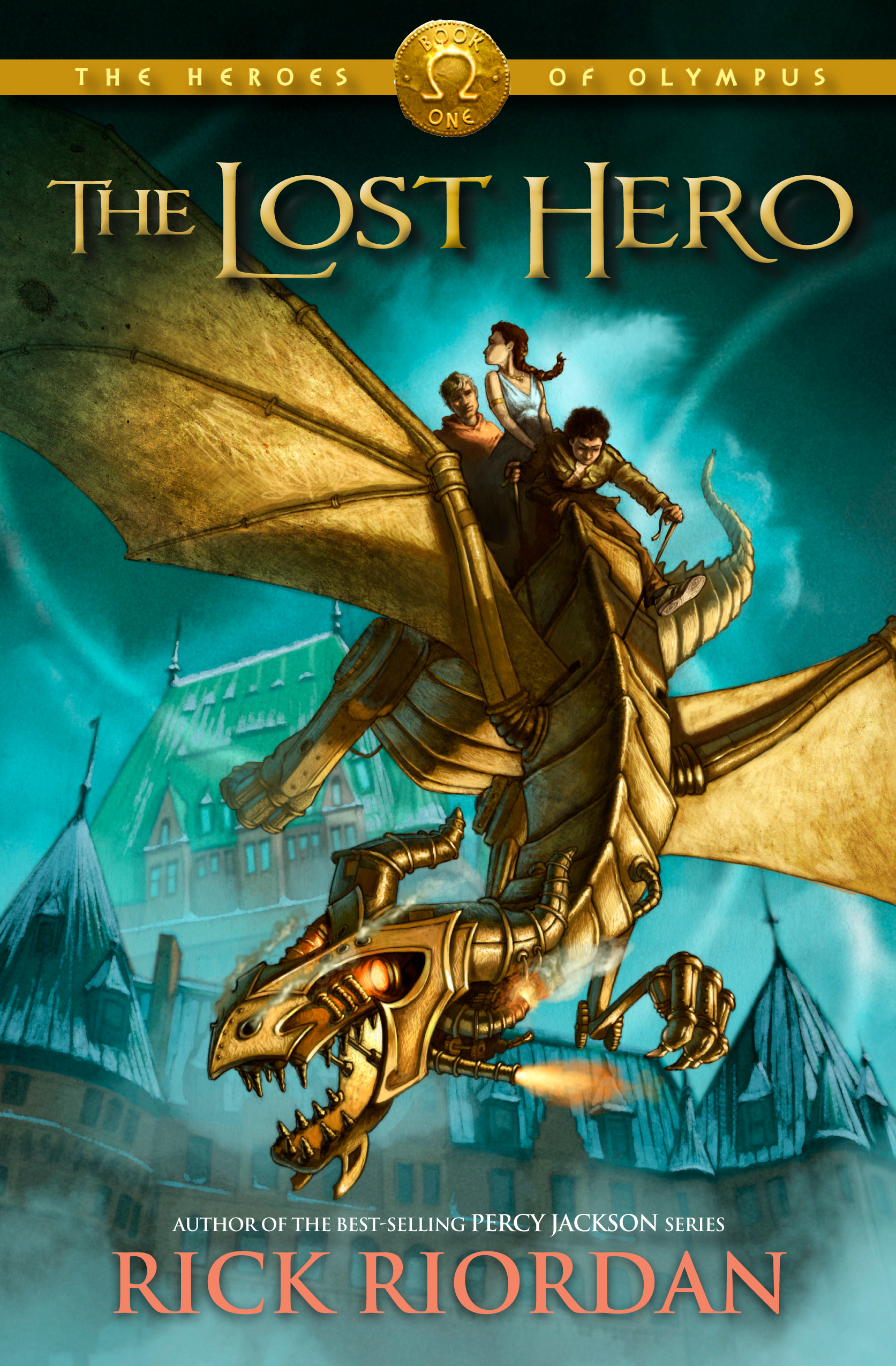 Cover Image of Lost Hero, The (Heroes of Olympus, The, Book One)