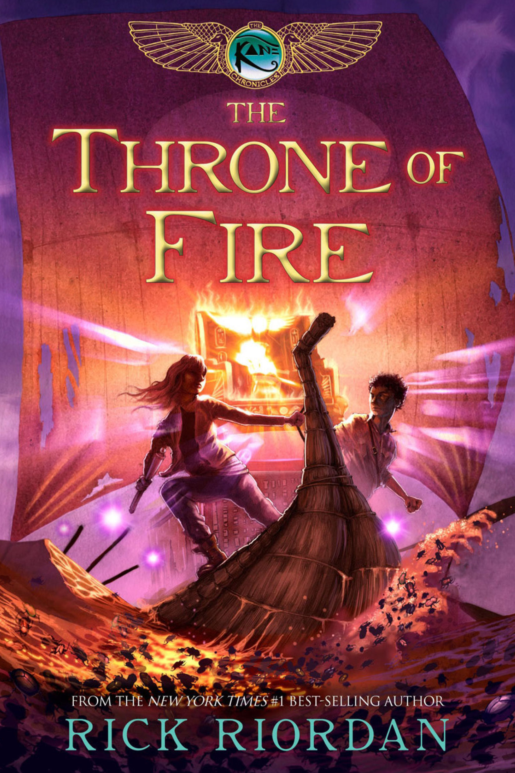 Cover Image of The Throne of Fire