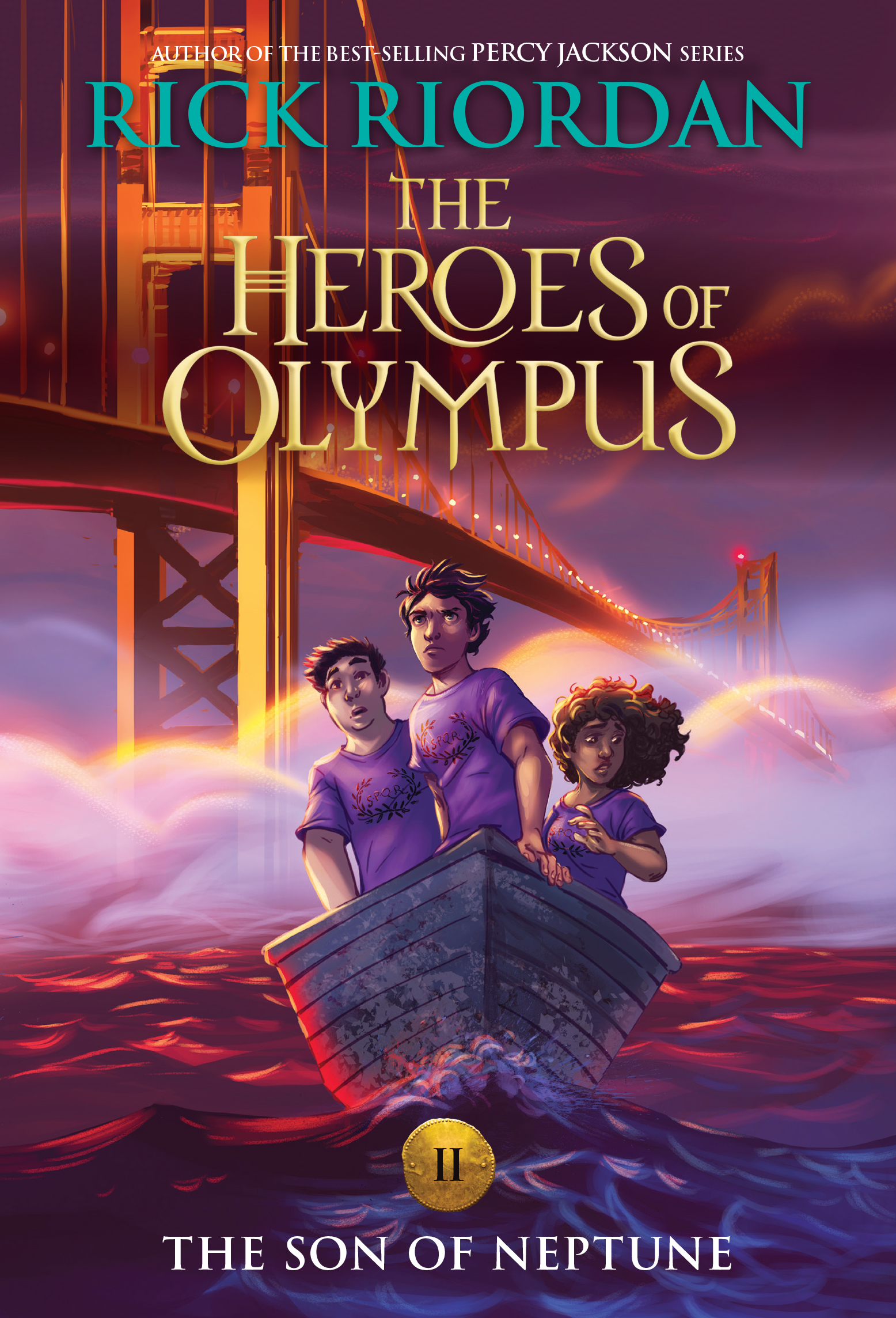 Cover Image of Heroes of Olympus: The Son of Neptune