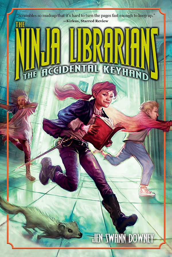 Cover Image of The Ninja Librarians: The Accidental Keyhand