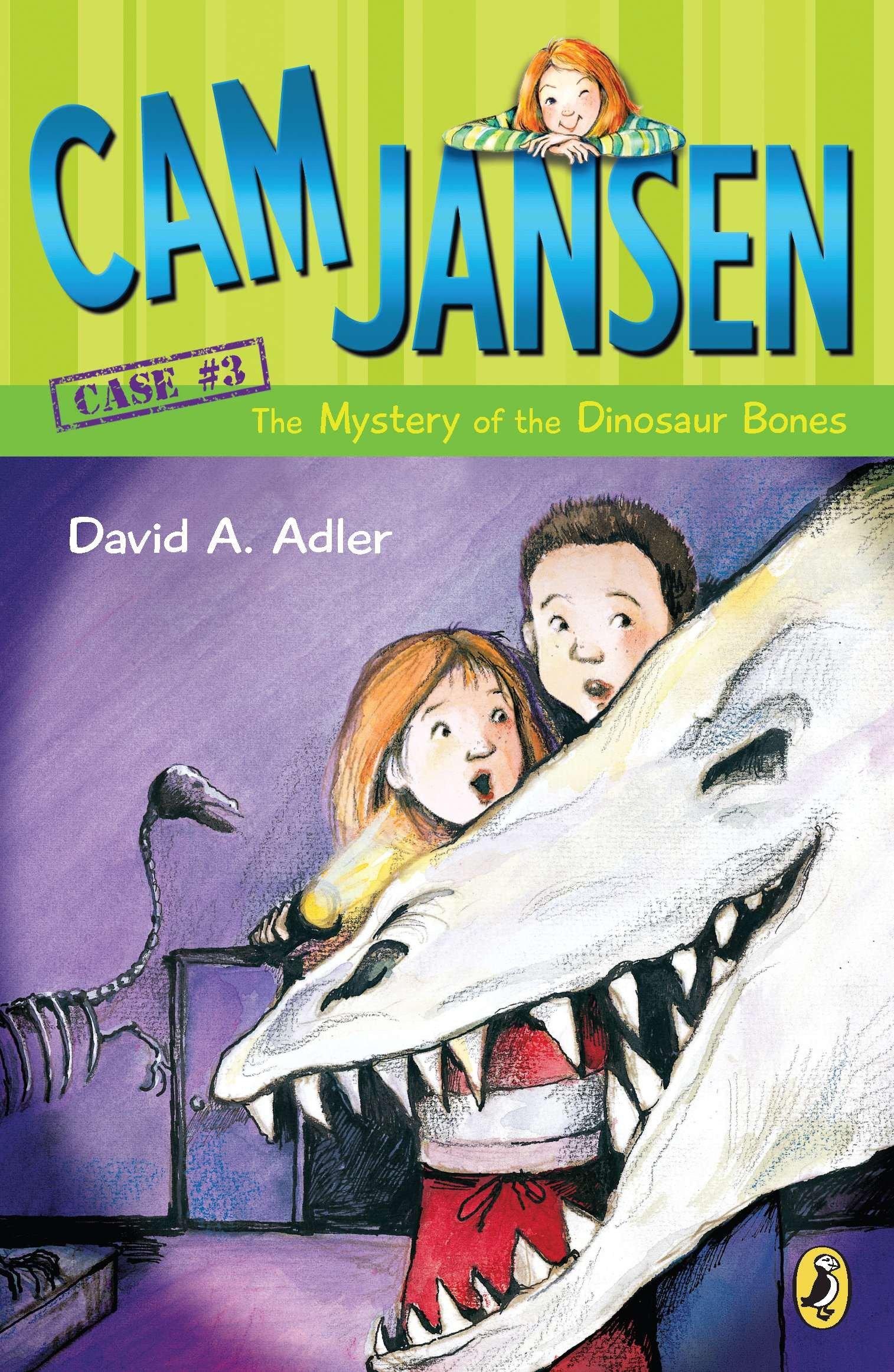 Cam Jansen: The Mystery of the Dinosaur Bones #3