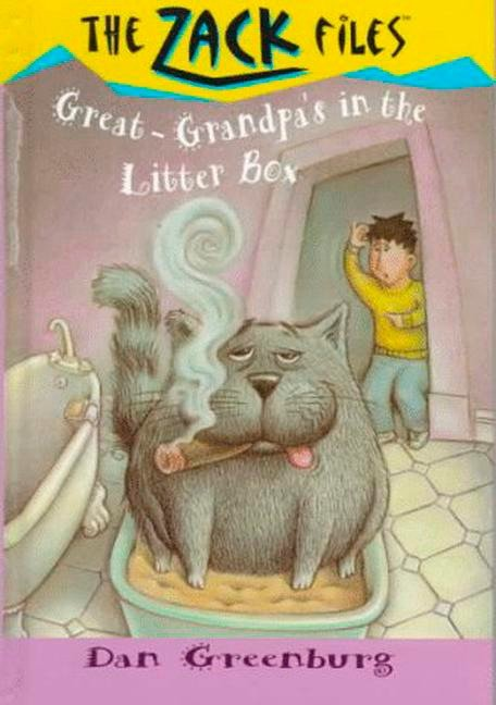 Cover Image of Zack Files 01: My Great-grandpa's in the Litter Box
