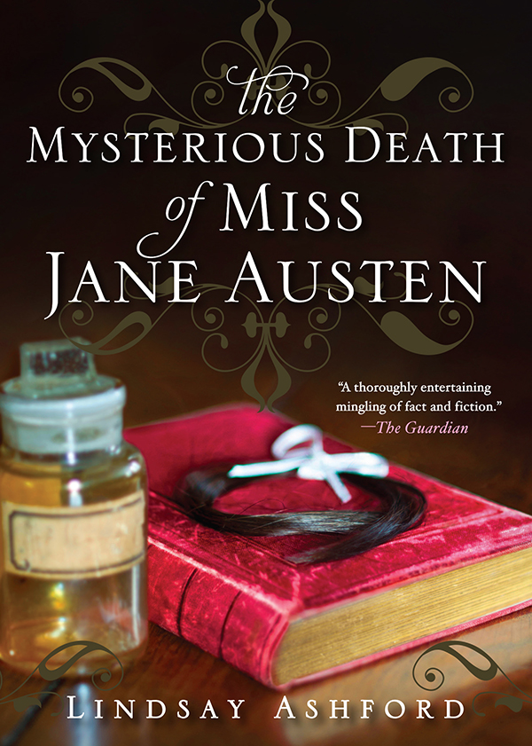 Cover Image of The Mysterious Death of Miss Jane Austen