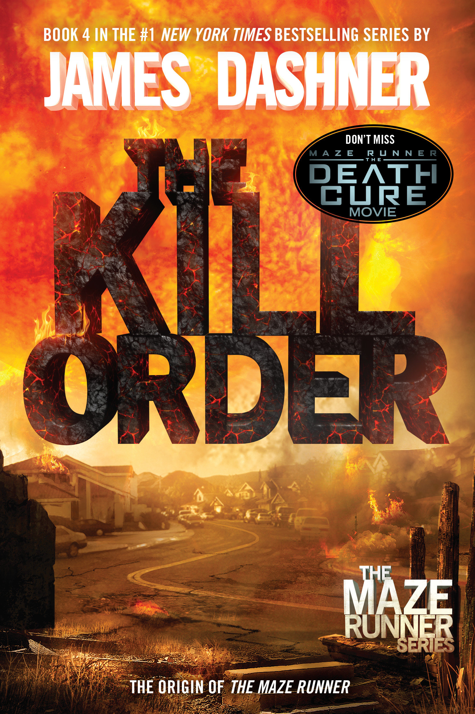 Cover Image of The Kill Order (Maze Runner, Book Four; Origin)