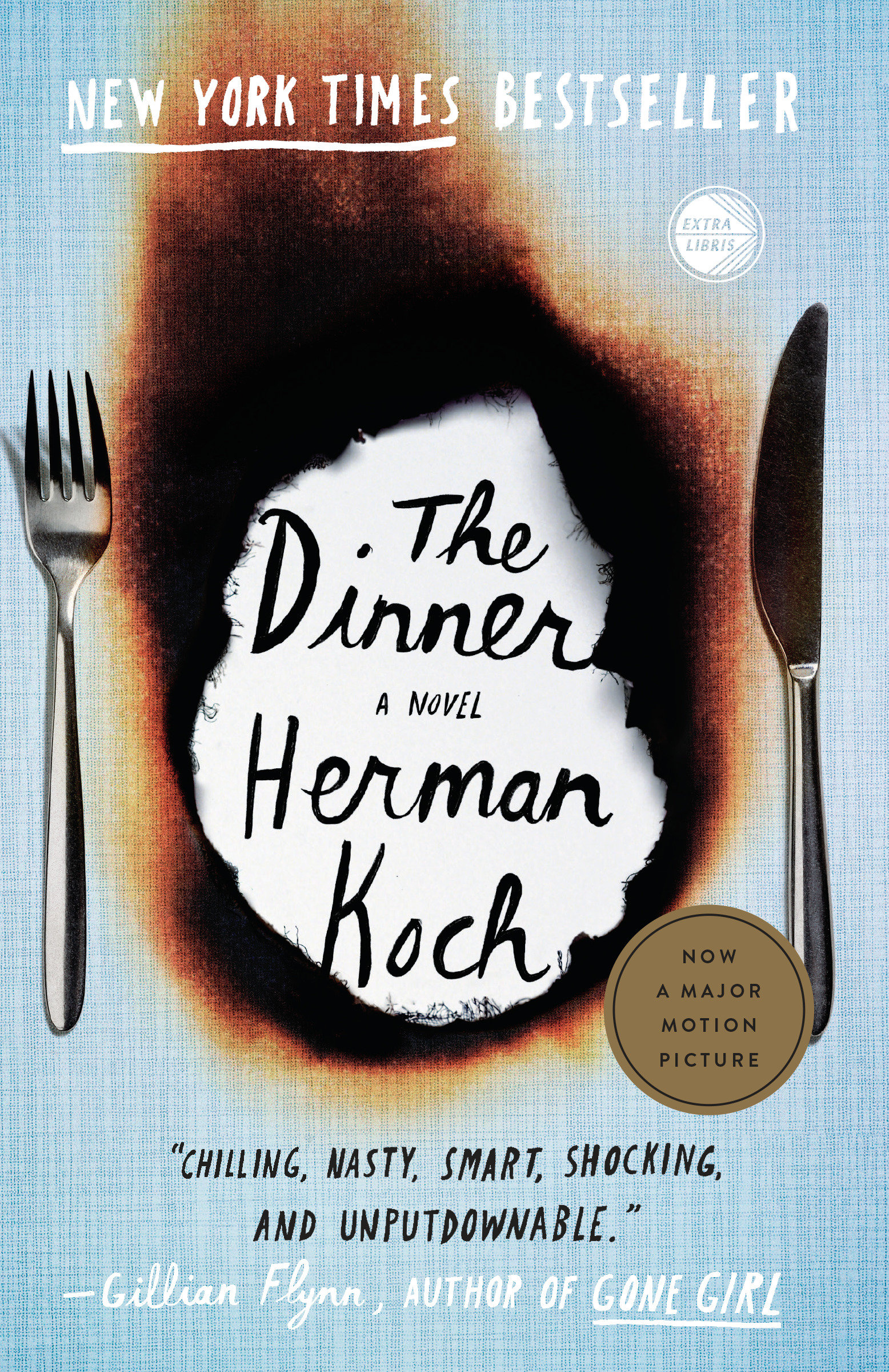 Cover Image of The Dinner