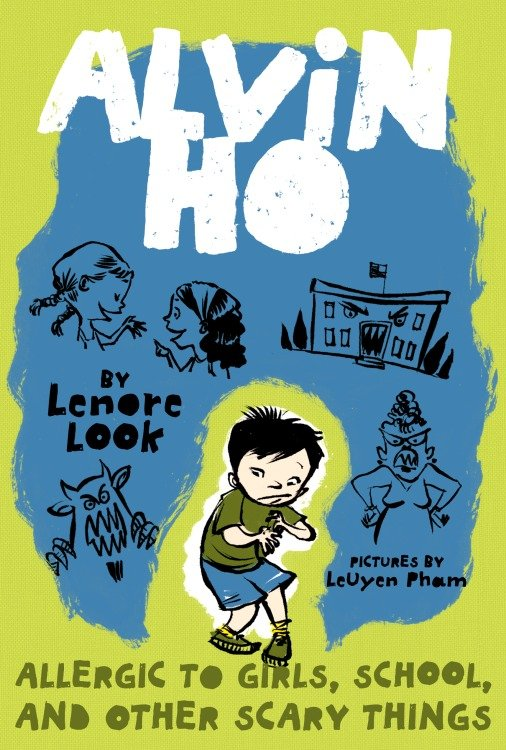 Cover Image of Alvin Ho: Allergic to Girls, School, and Other Scary Things