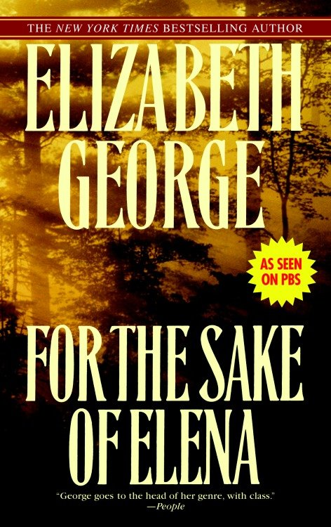 Cover Image of For the Sake of Elena