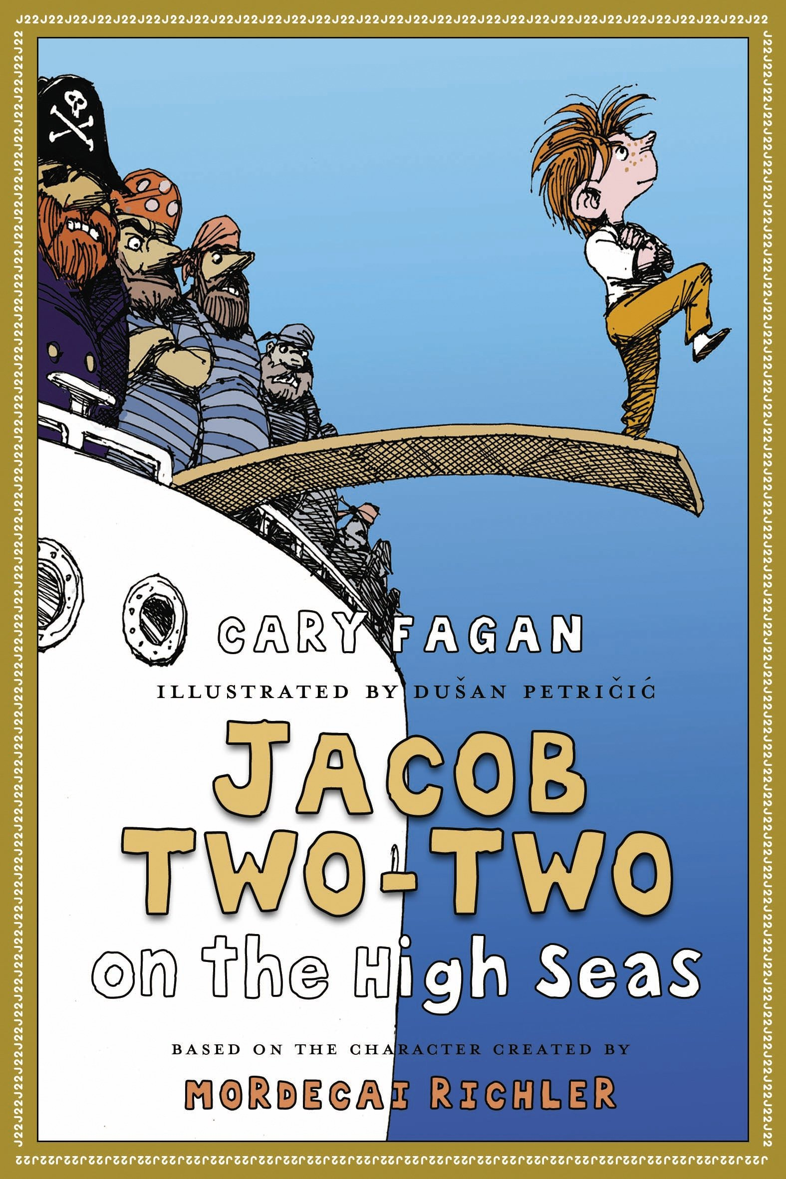 Cover Image of Jacob Two-Two on the High Seas