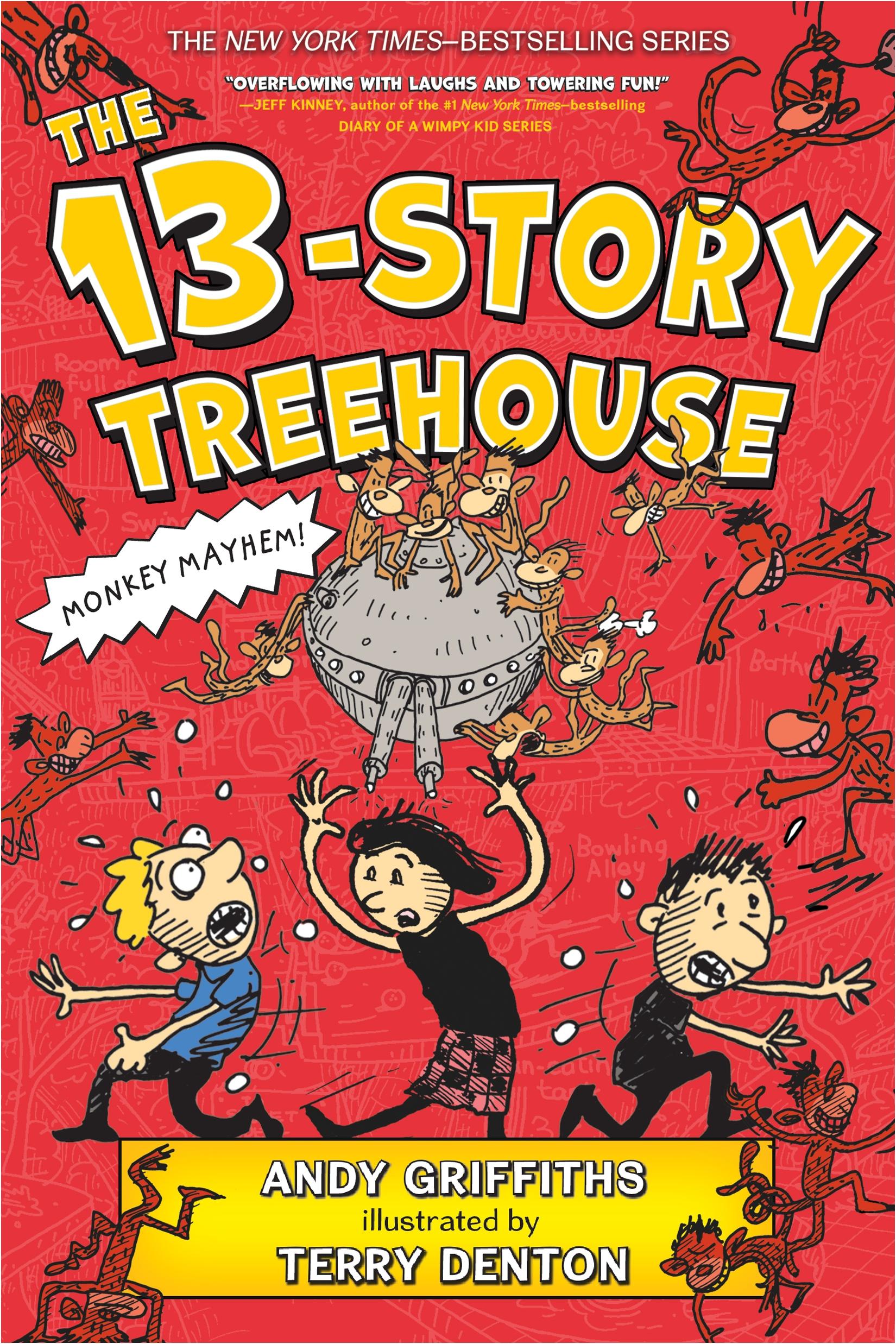 The 13-Story Treehouse Monkey Mayhem!