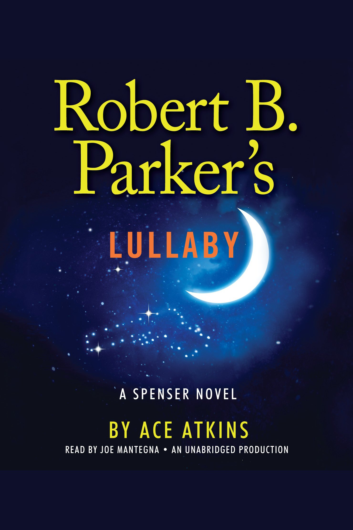 Robert B. Parker's lullaby cover image