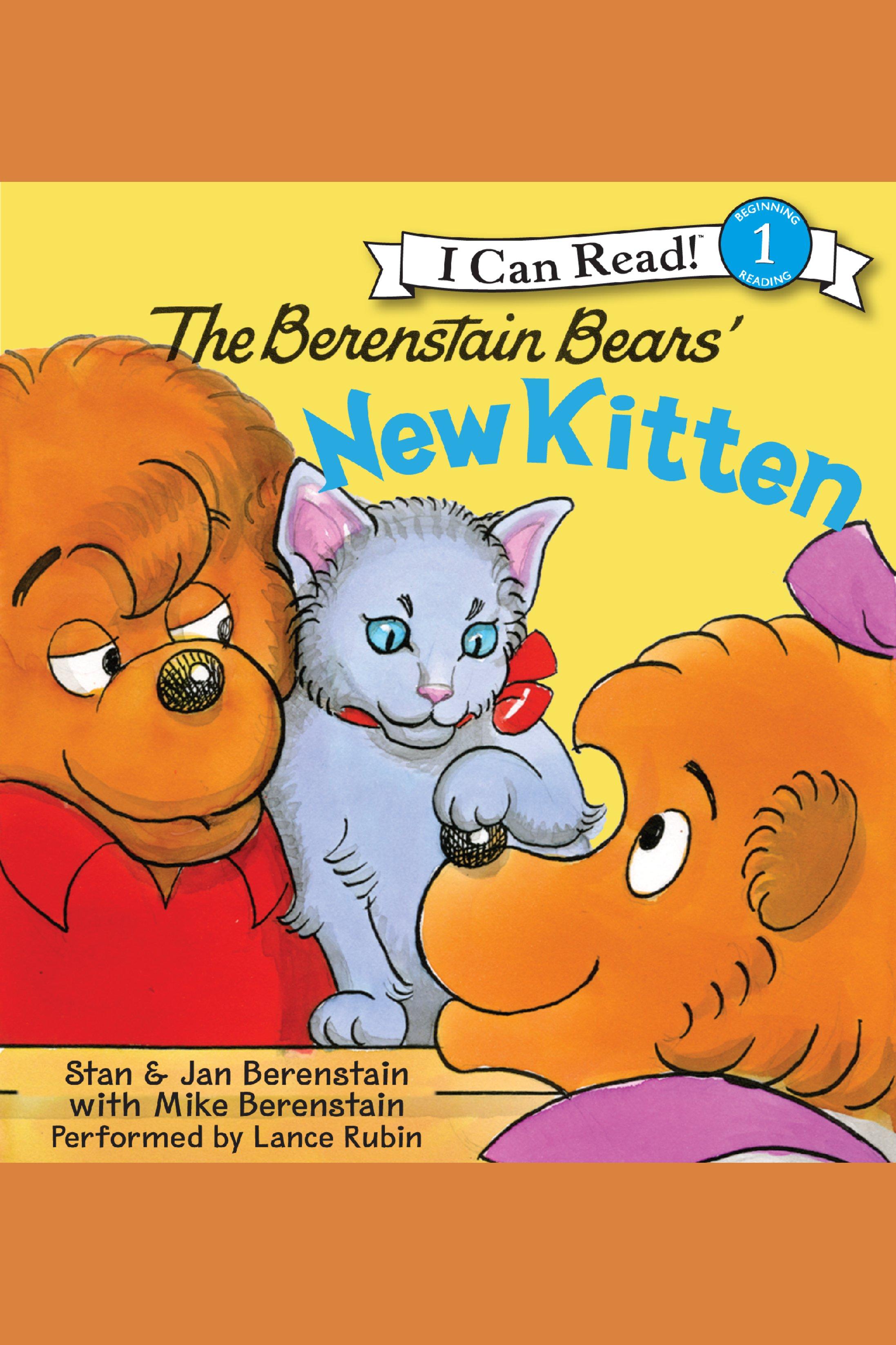 The Berenstain Bears' new kitten cover image