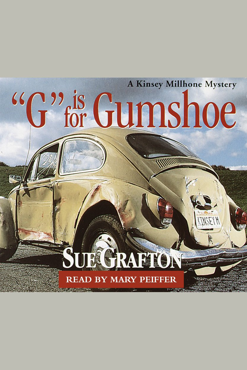 """""""G"""" Is for gumshoe a Kinsey Millhone mystery cover image"""